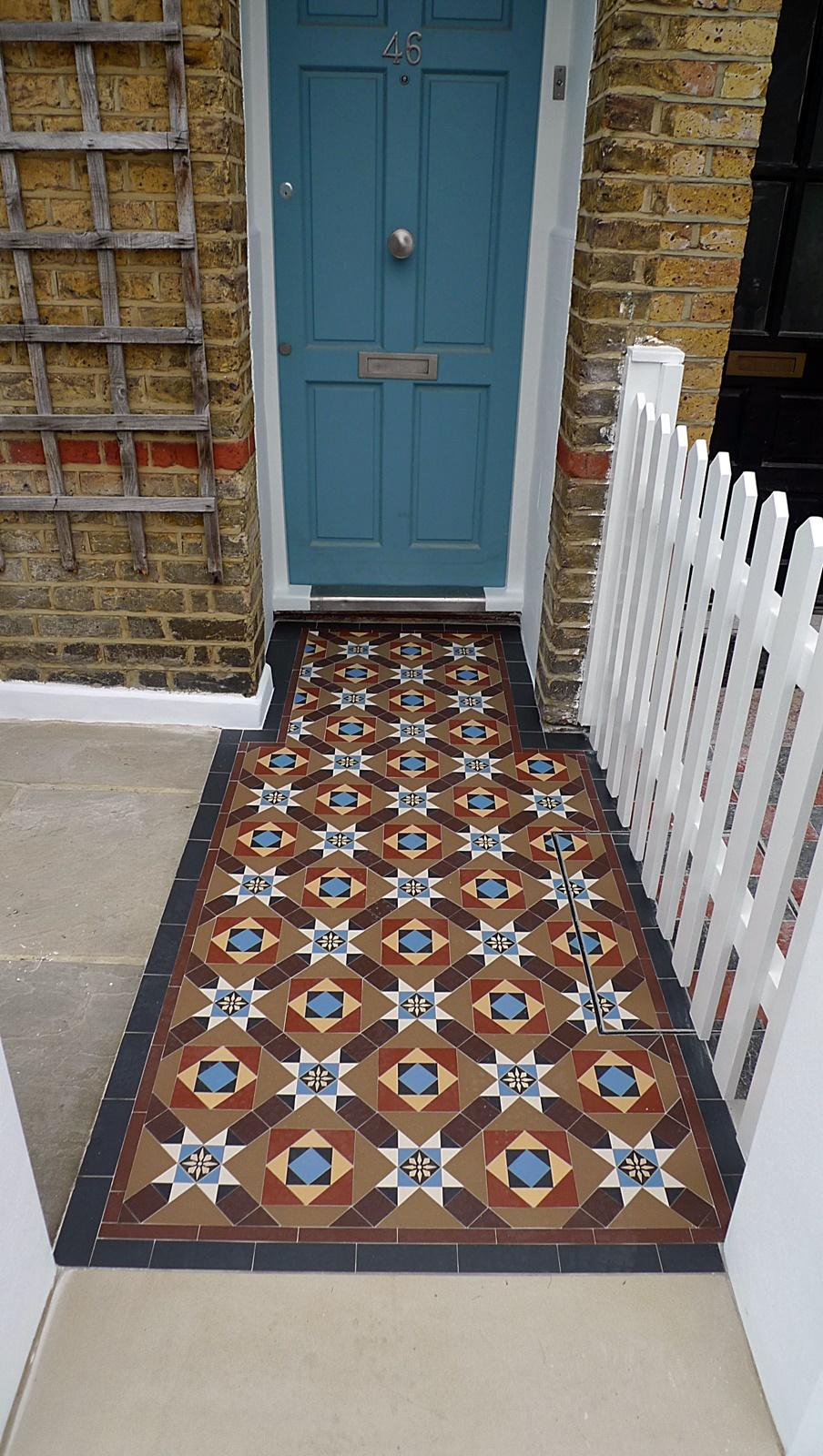 bowood 50 victroian mosaic tile path london wandsworth battersea clapham balham dulwich london