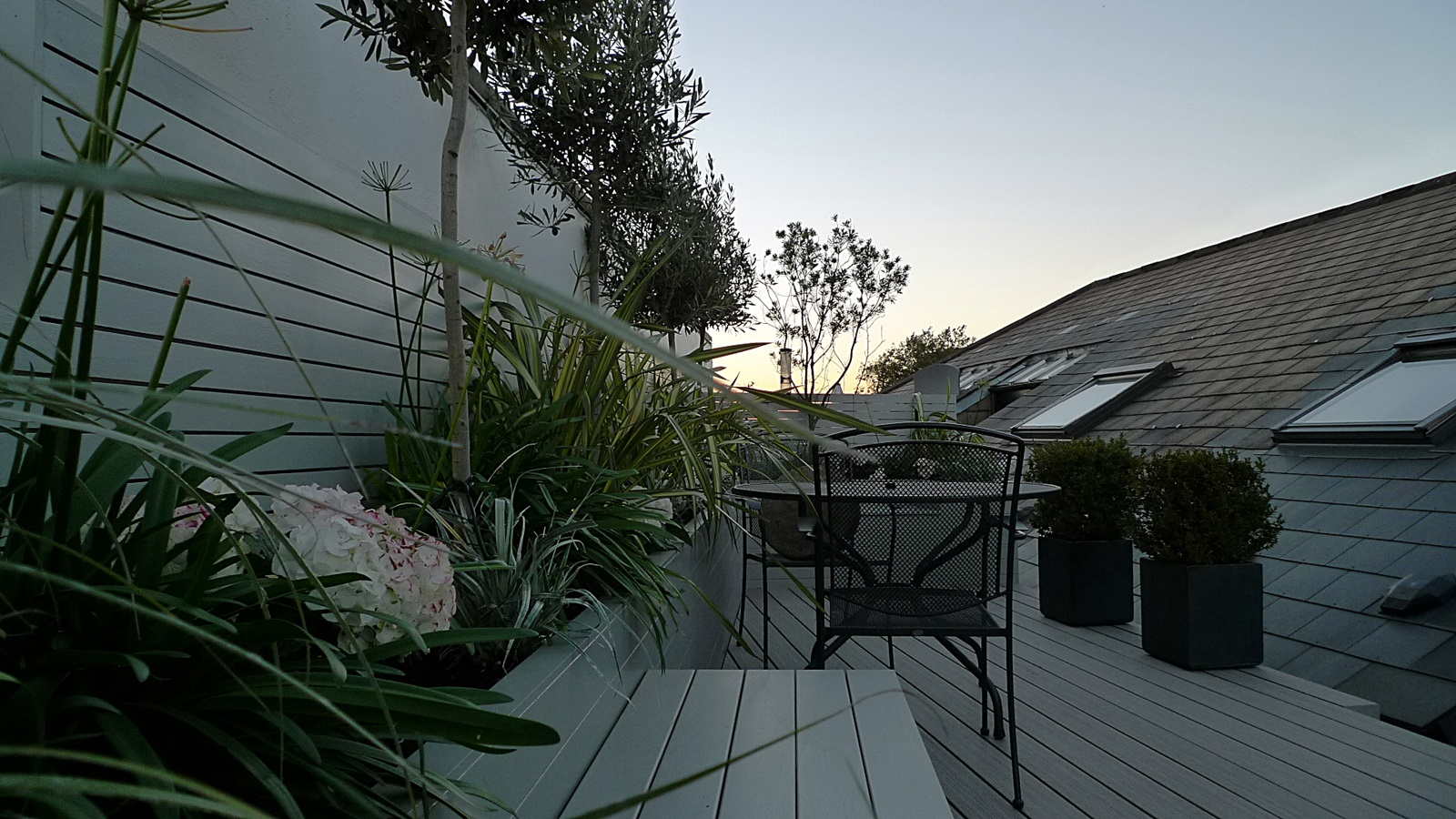 great planting ideas roof terrace london