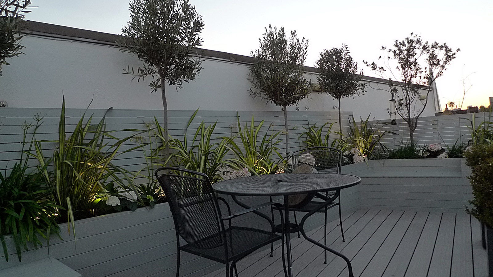 roof terrace garden design fulham chelsea clapham putney battersea london