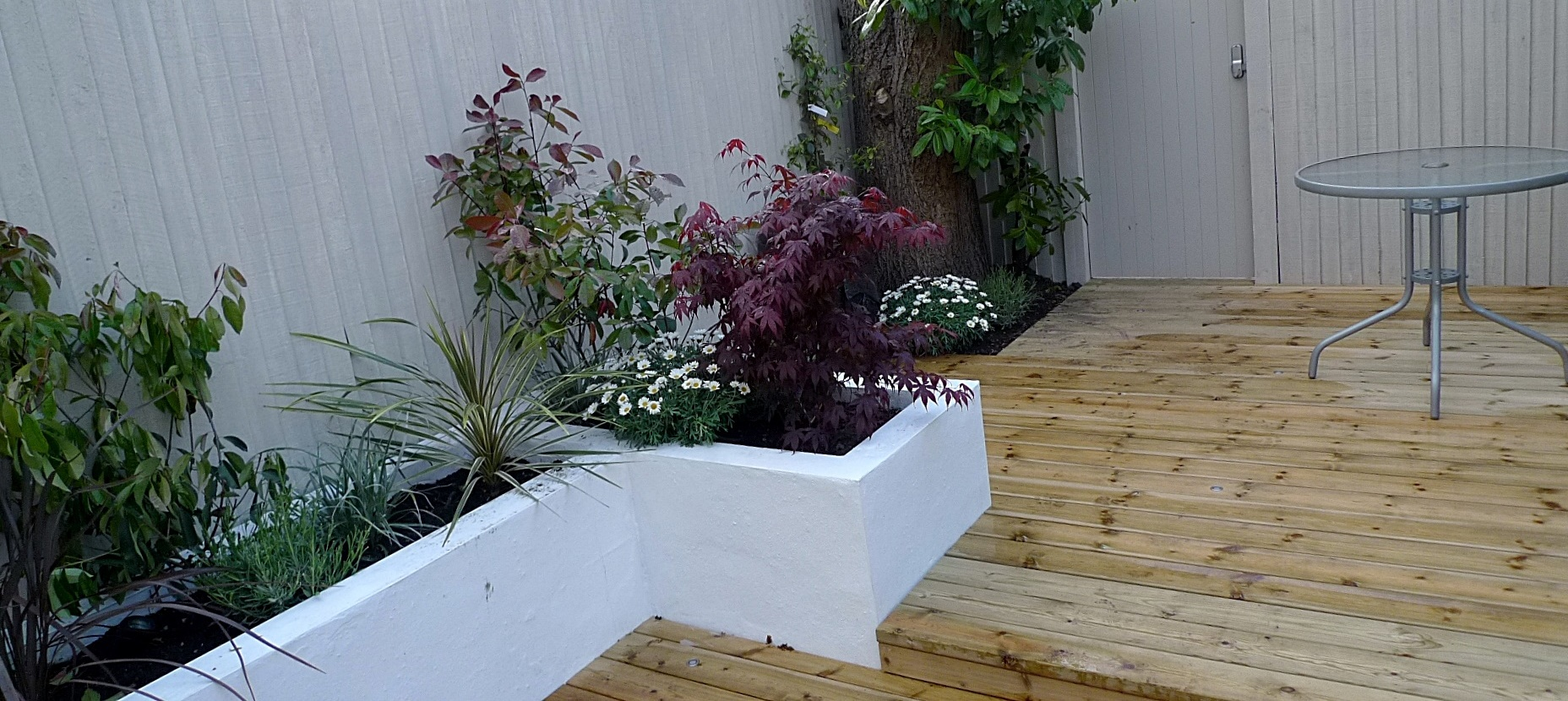 Balham planting hardwood London Clapham grey colour scheme