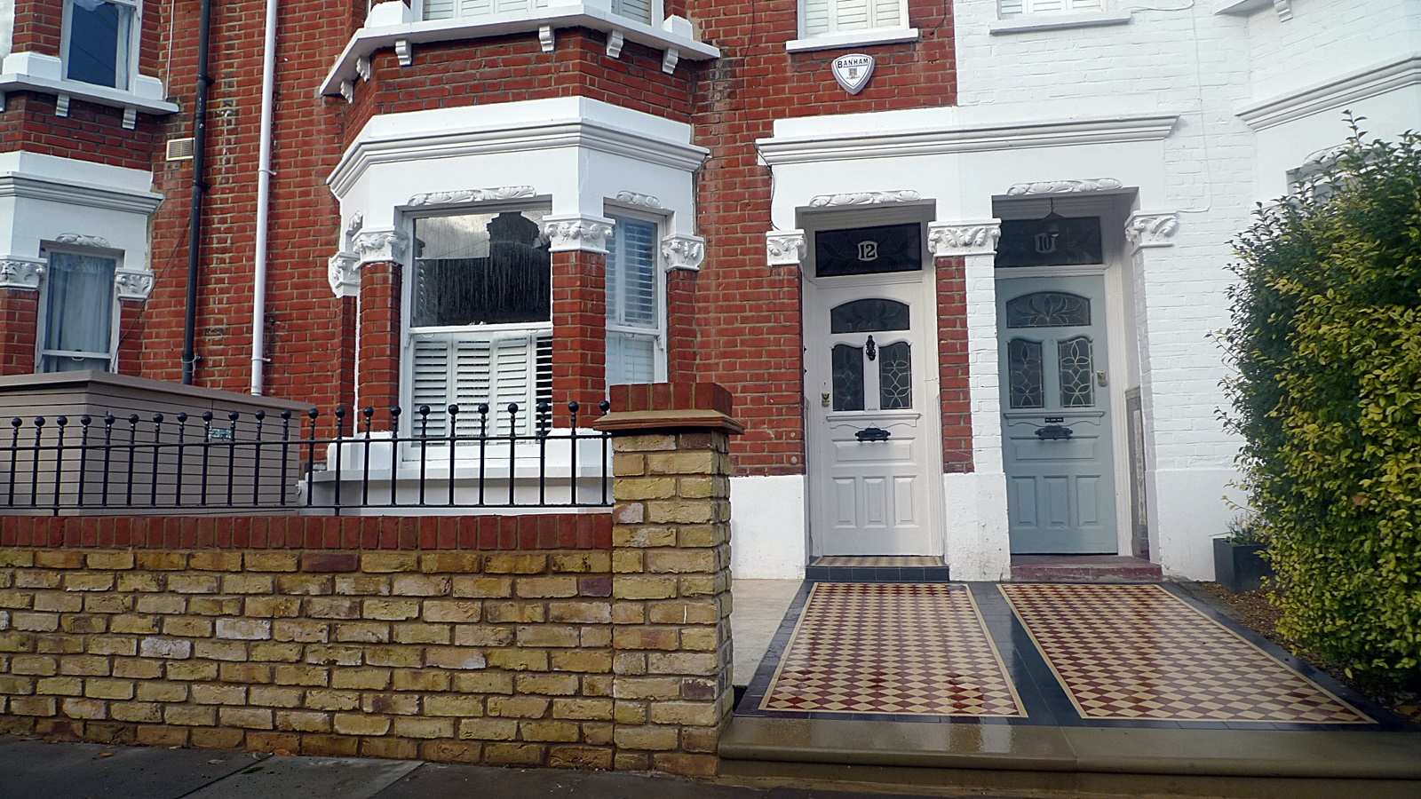 Classic Front Garden Design London Chelsea Kensington