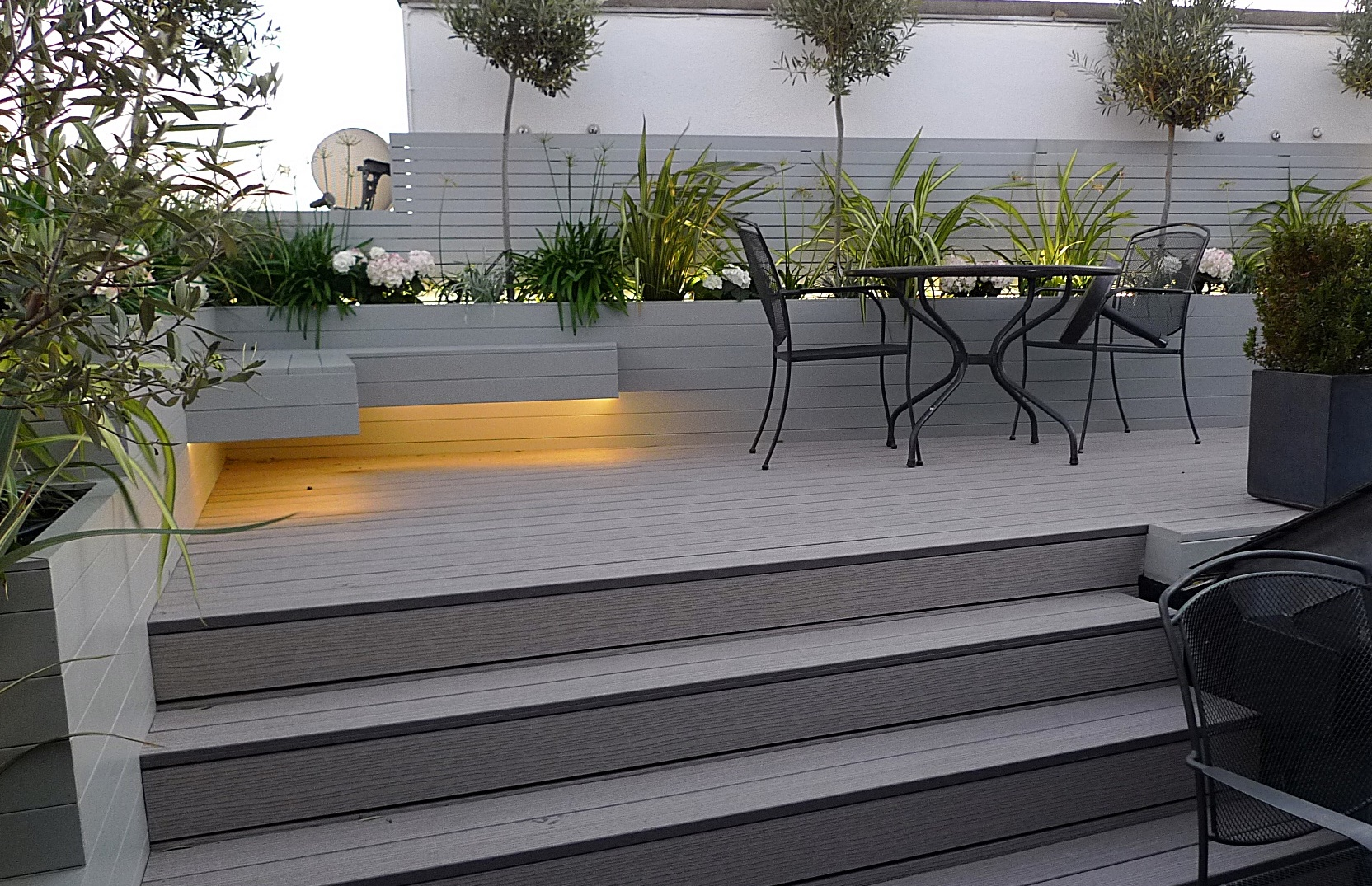 Lighting planting garden design company London