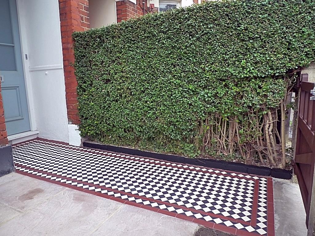 Victorian mosaic Balham Clapham Battersea York stone