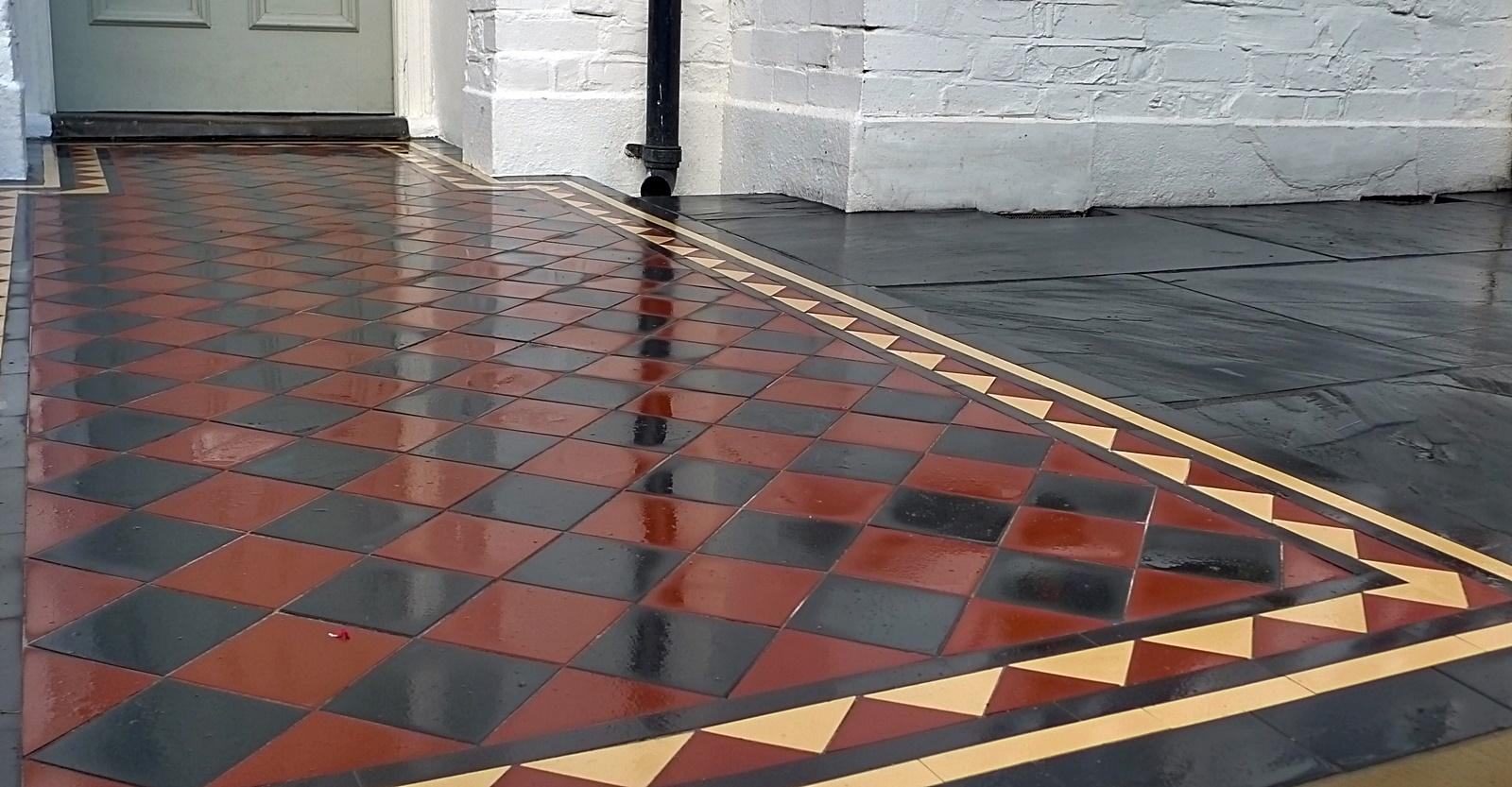 Victorian mosaic Chelsea Putney Battersea London