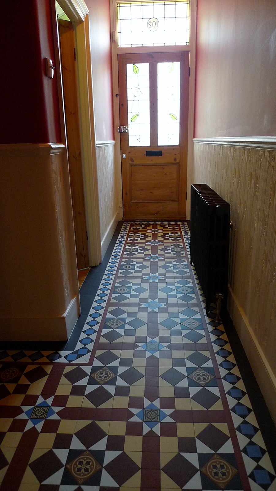 victorian and edwardian mosaic tile path hallway dulwich bromley peckham east dulwich herne hill streatham london