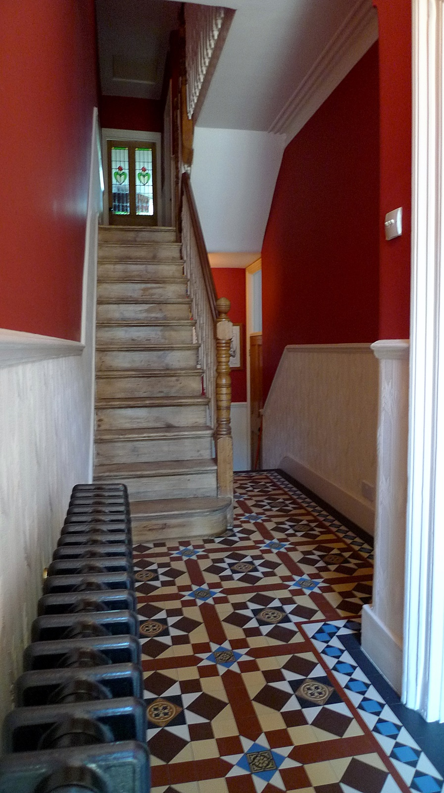 victorian mosaic tile hallway streatham kensington mayfair west end w1 westminster london
