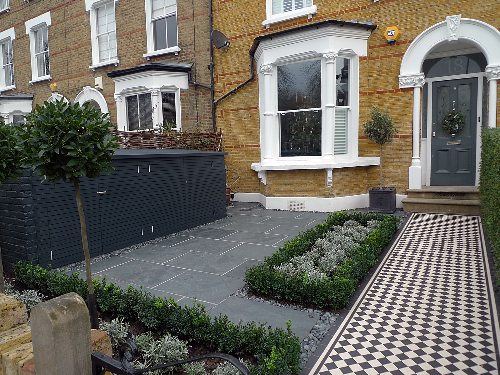 Yellow archives london garden blog for Paved front garden designs