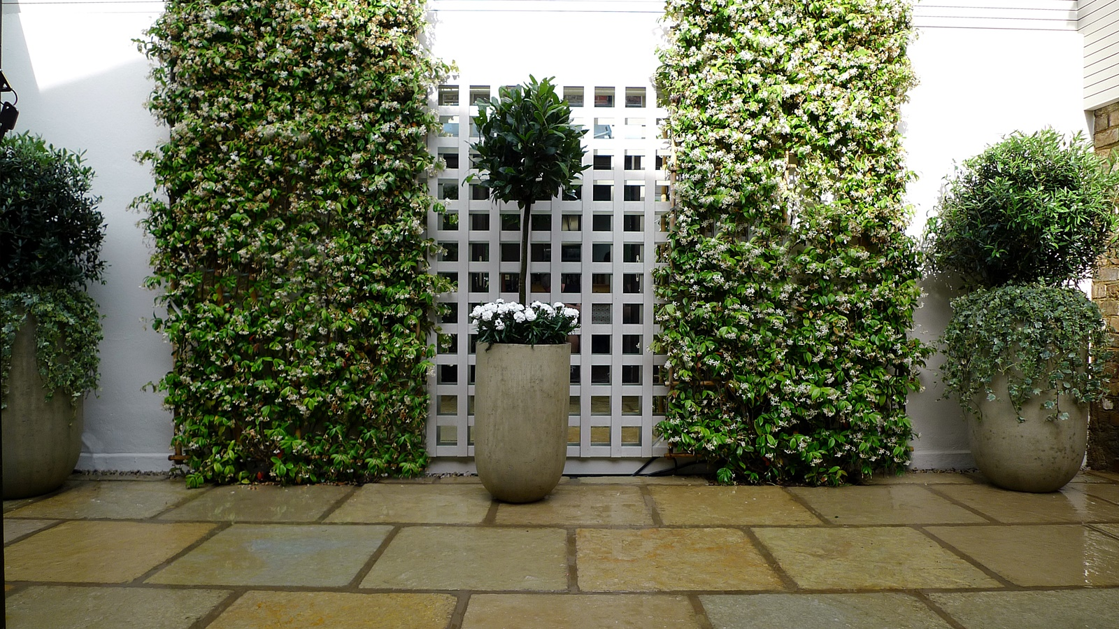 Courtyard minimalist contemporary garden design and designer london (18)
