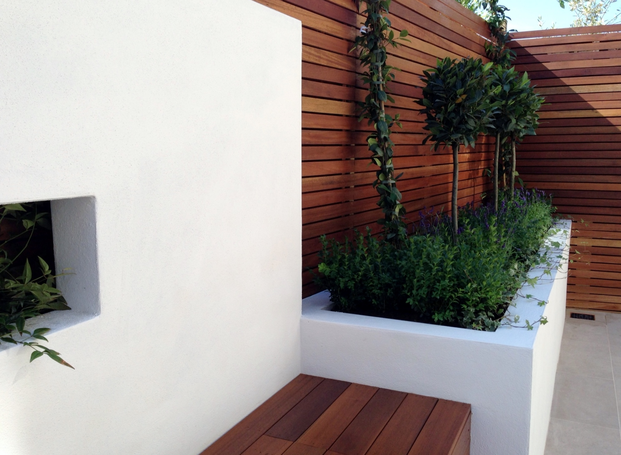 small garden design london docklands ideas low maintenance grey tiles