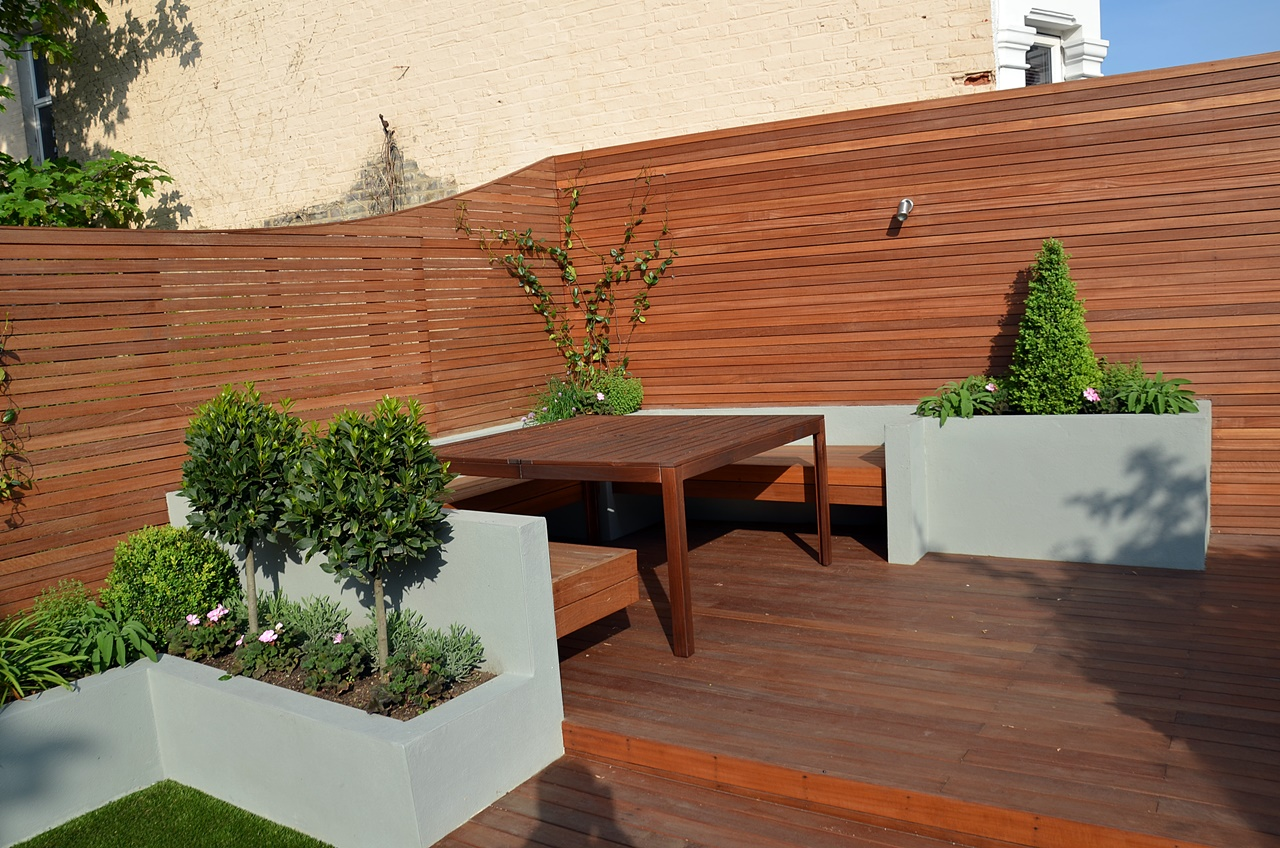 balau hardwood decking london