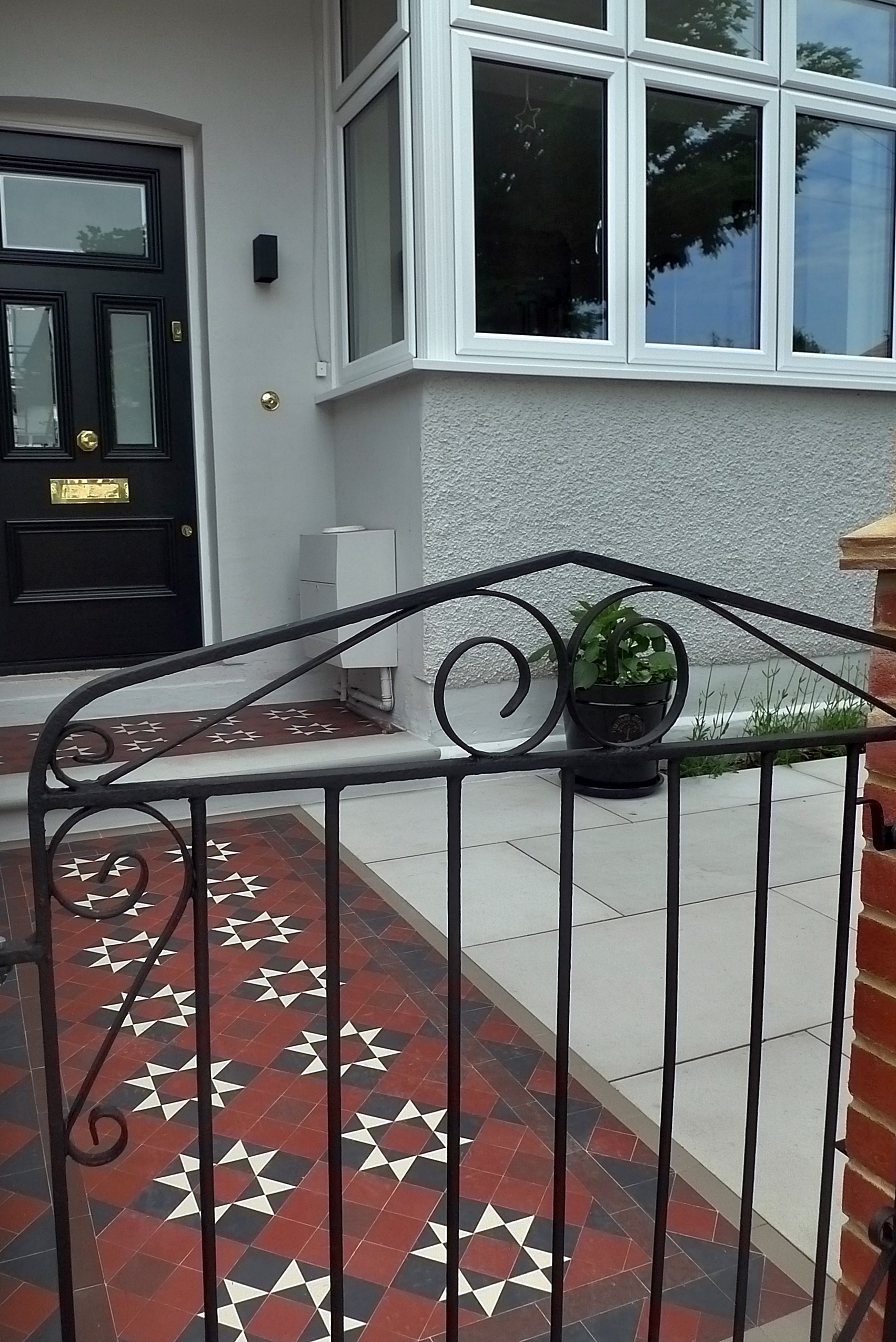 edwardian restoration front garden company london