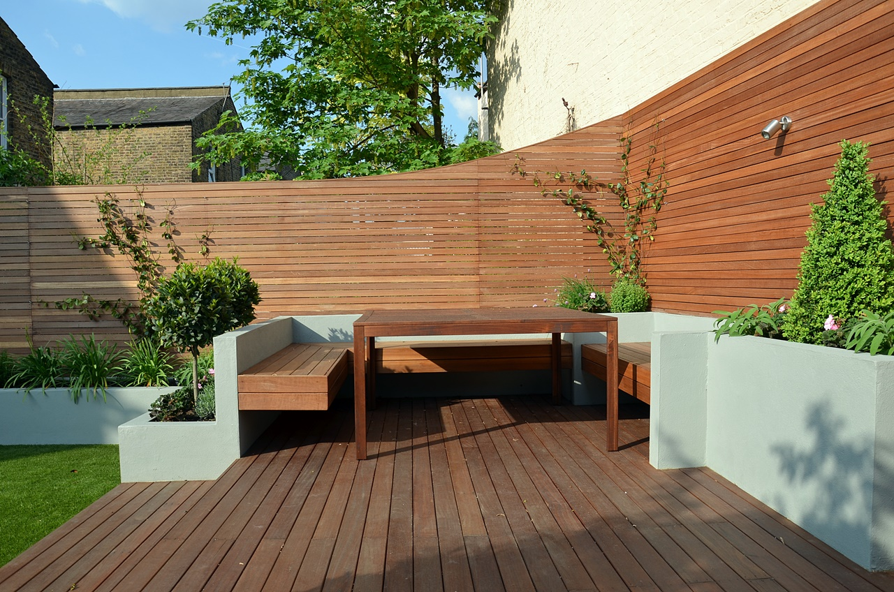 hardwood balau decking london