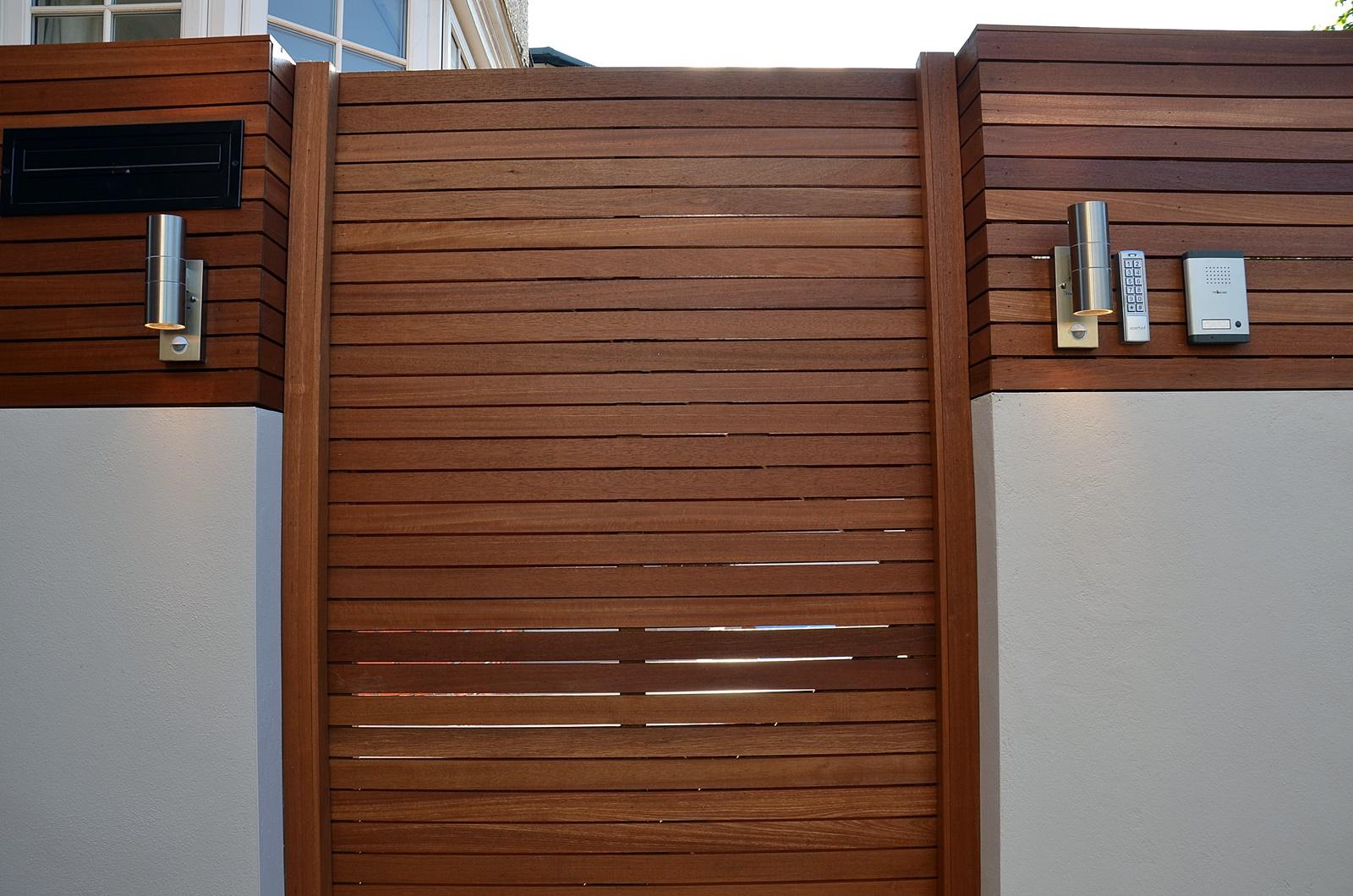 hardwood garden gate london