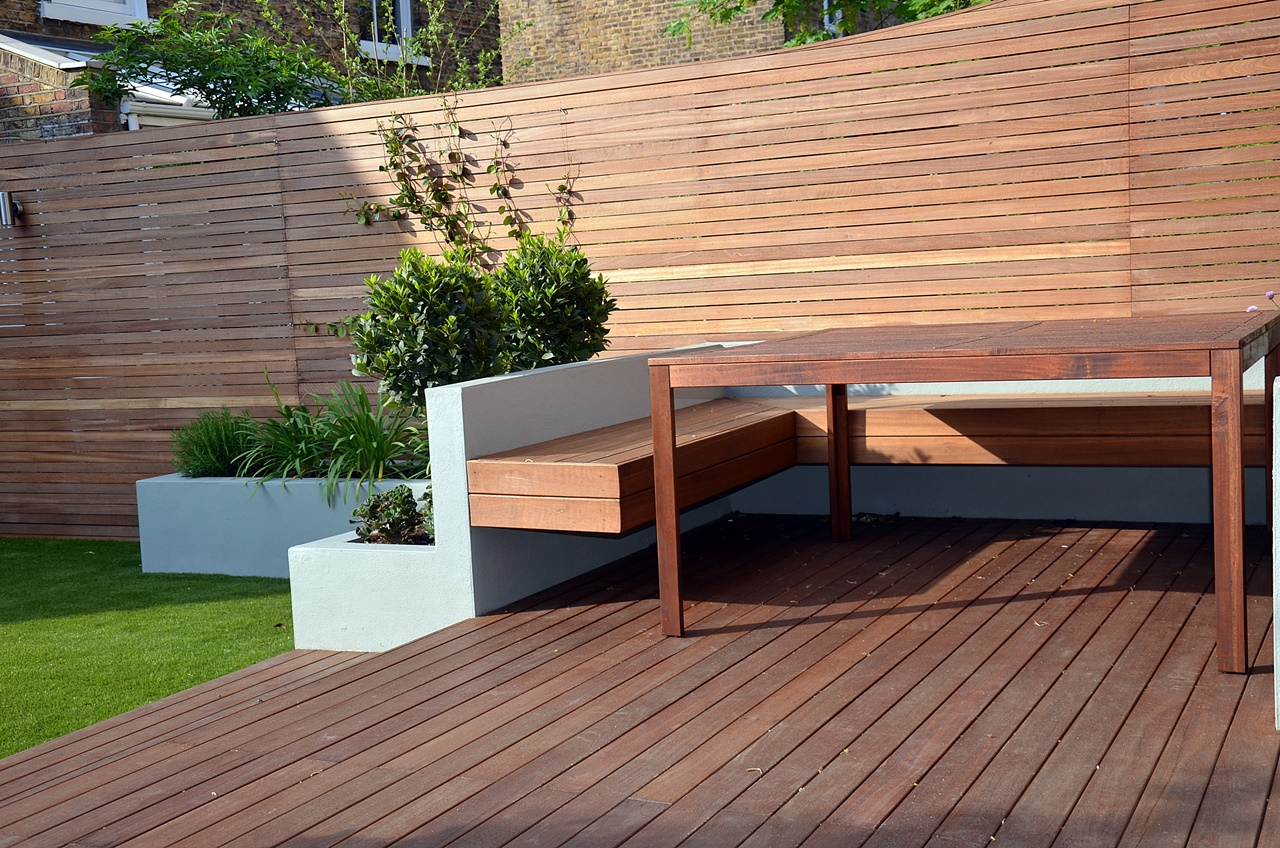 hardwood screens and decking london
