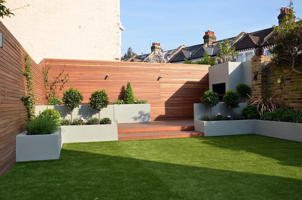 low maintenance modern garden design london