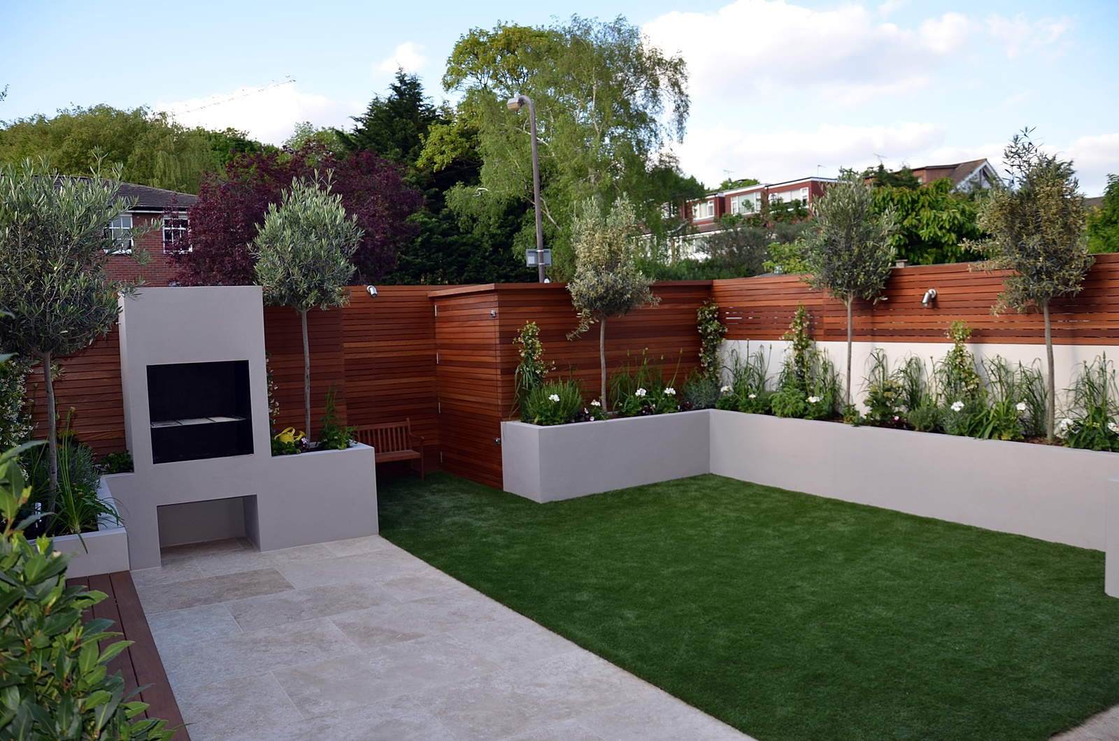 modern garden design 2016 Chelsea fulham kensington london