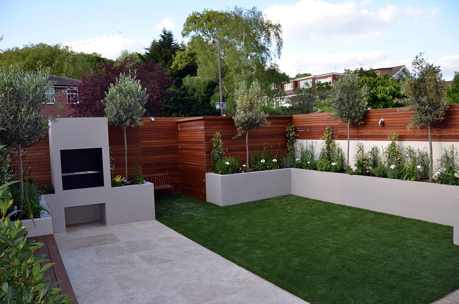 modern garden design 2016 Chelsea fulham kensington london