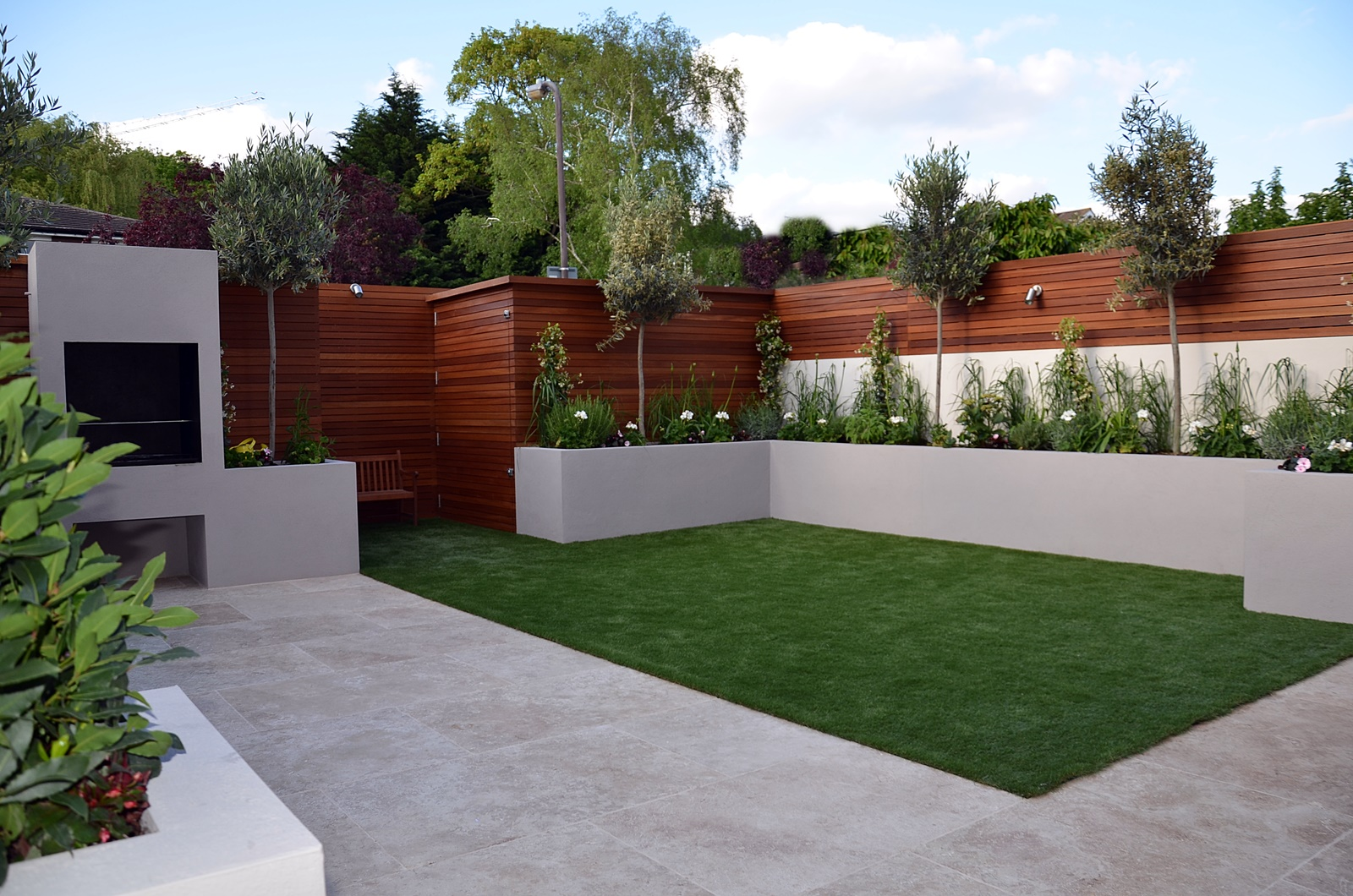 modern garden design balham clapham battersea London