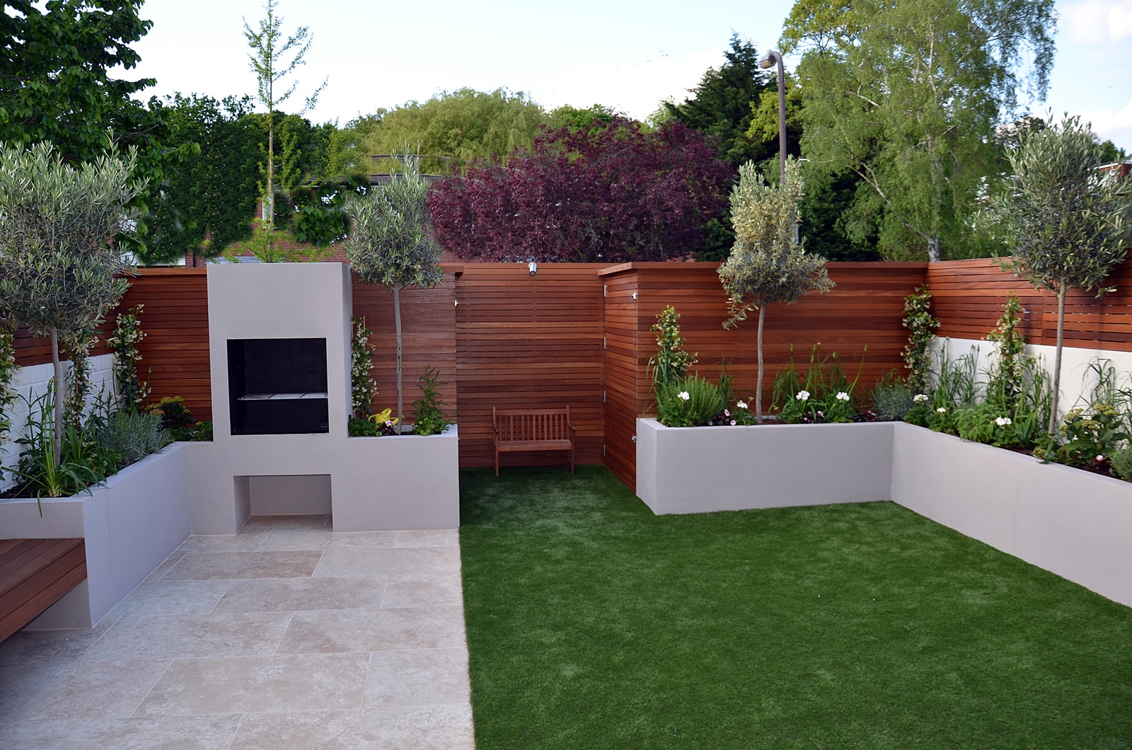 modern garden design brixton kennigton london