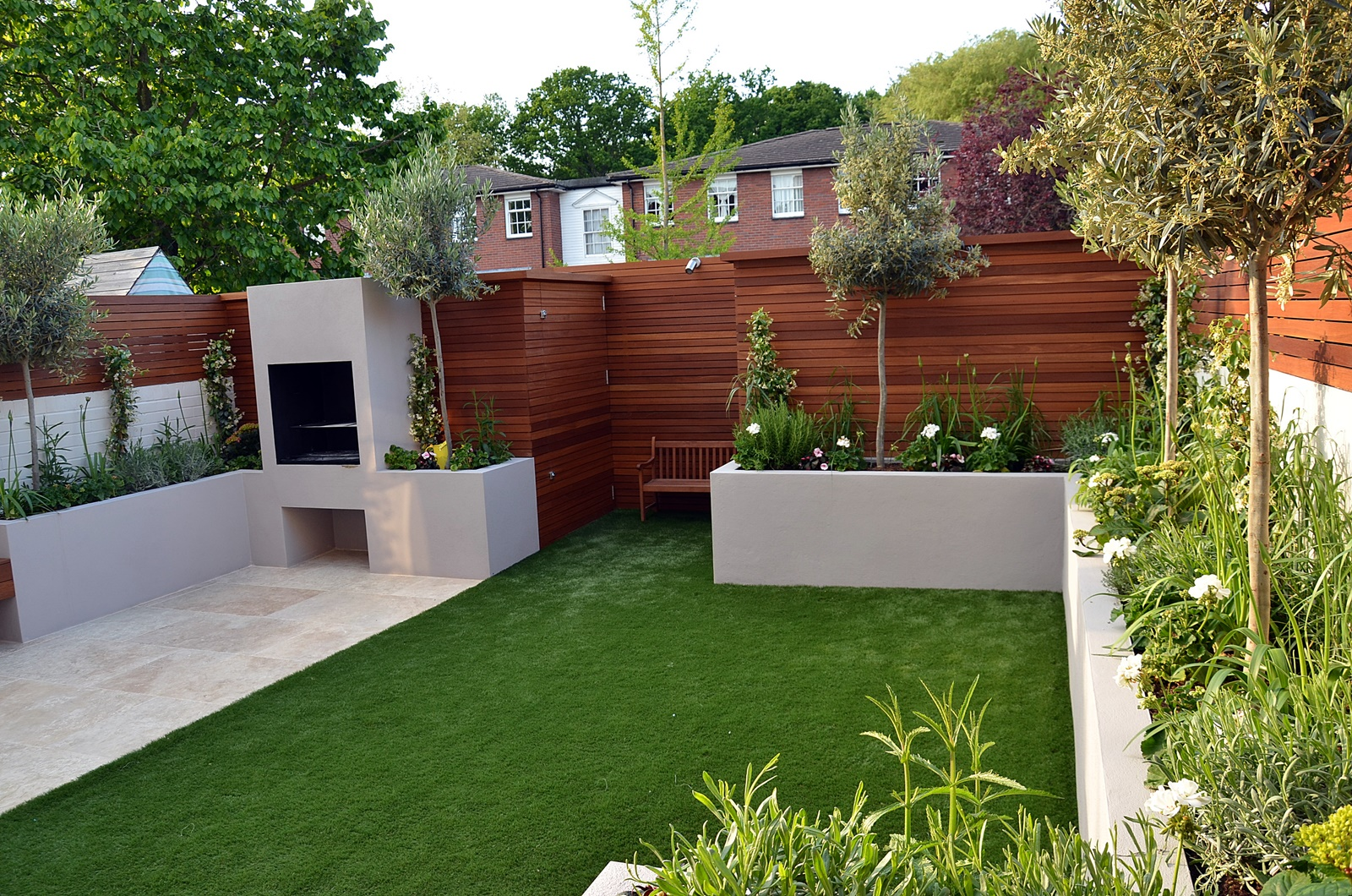 Modern garden design fulham chelsea clapham battersea for Garden design images