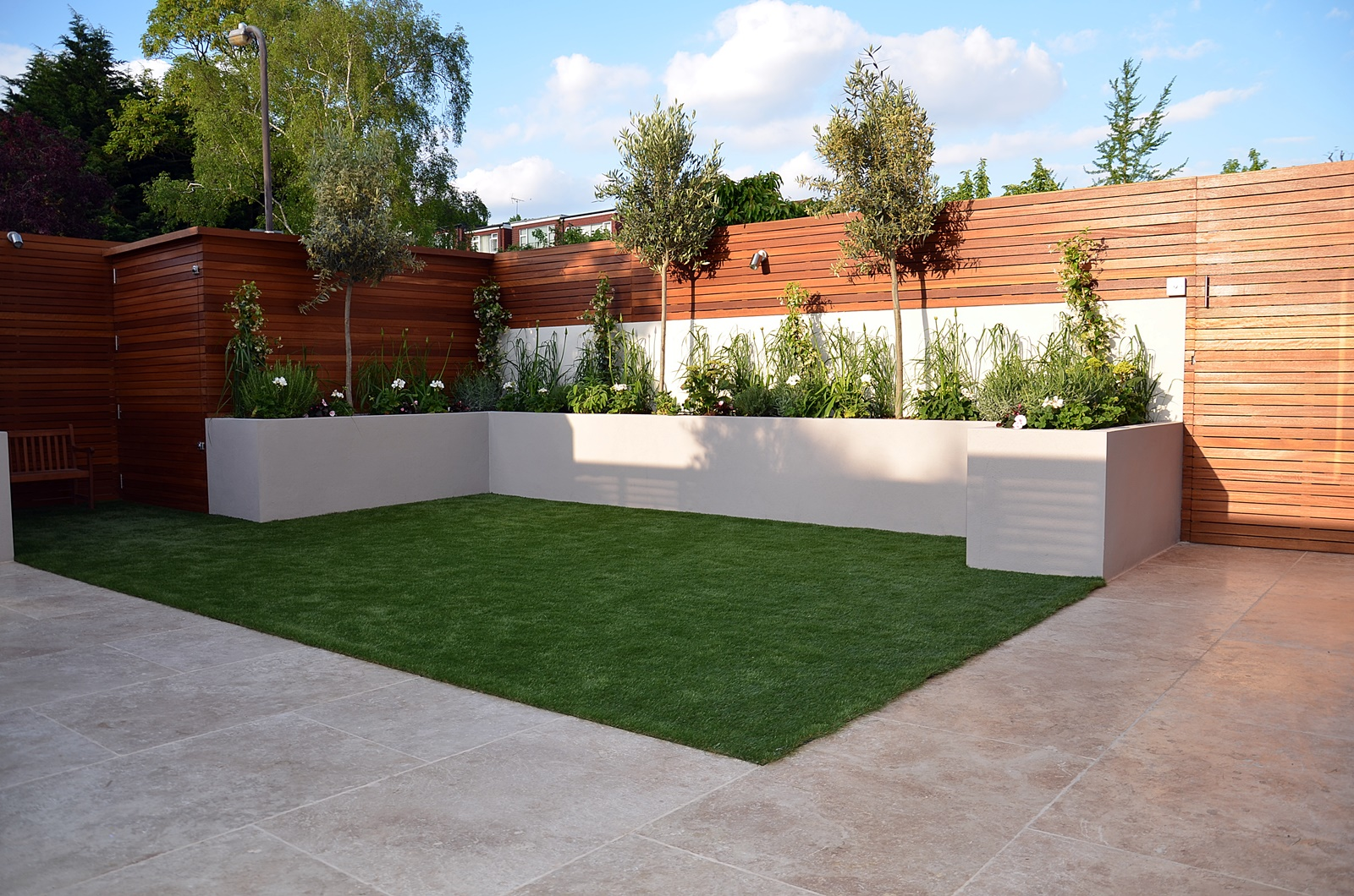 modern garden design designer islington kensington mayfair  W1 London
