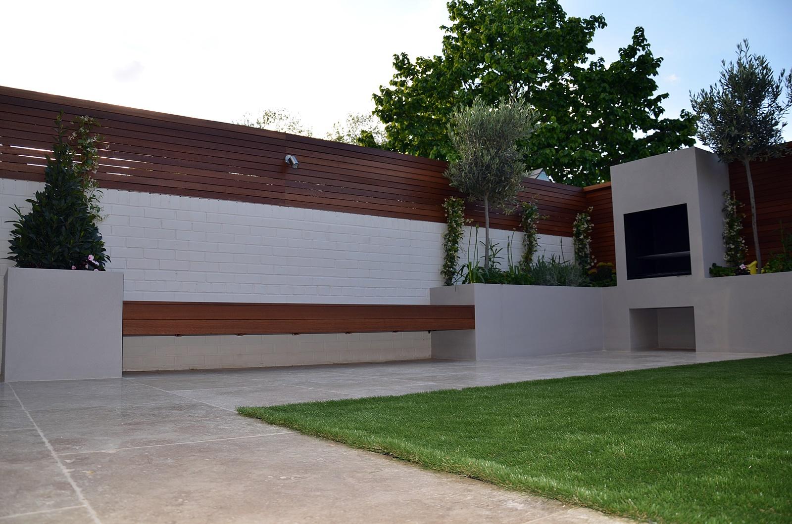 modern garden design designer sutton