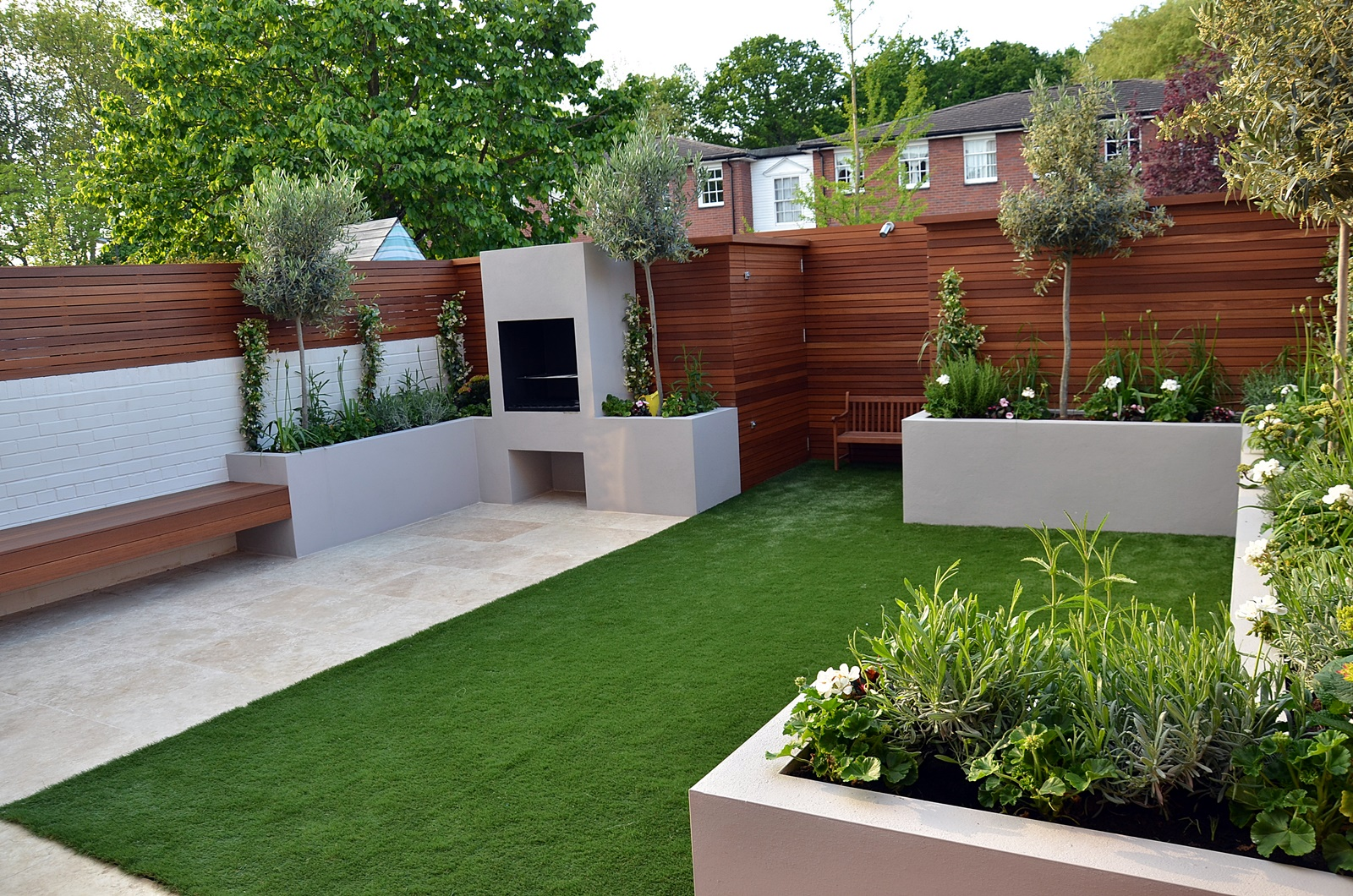 modern garden design designer west end central london