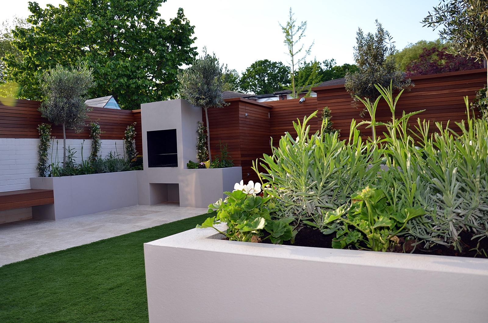modern garden design designer