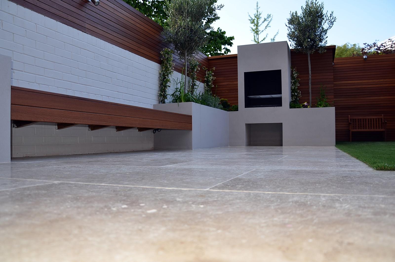modern garden designer balham london