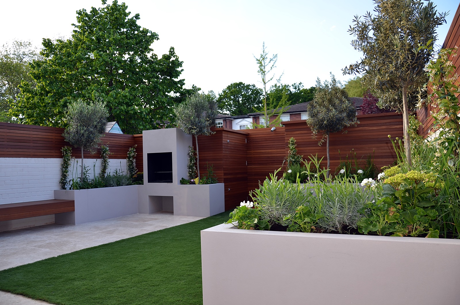 Modern garden design fulham chelsea clapham battersea for Landscape design for small garden