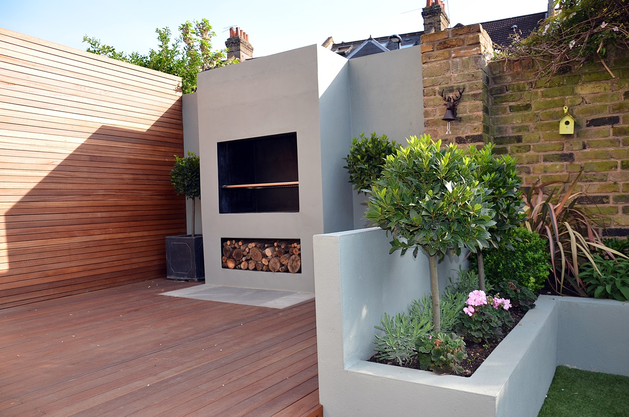 outdoor fireplace bbq london