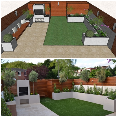 small garden designer cheam kingston croydon kingston cheam london