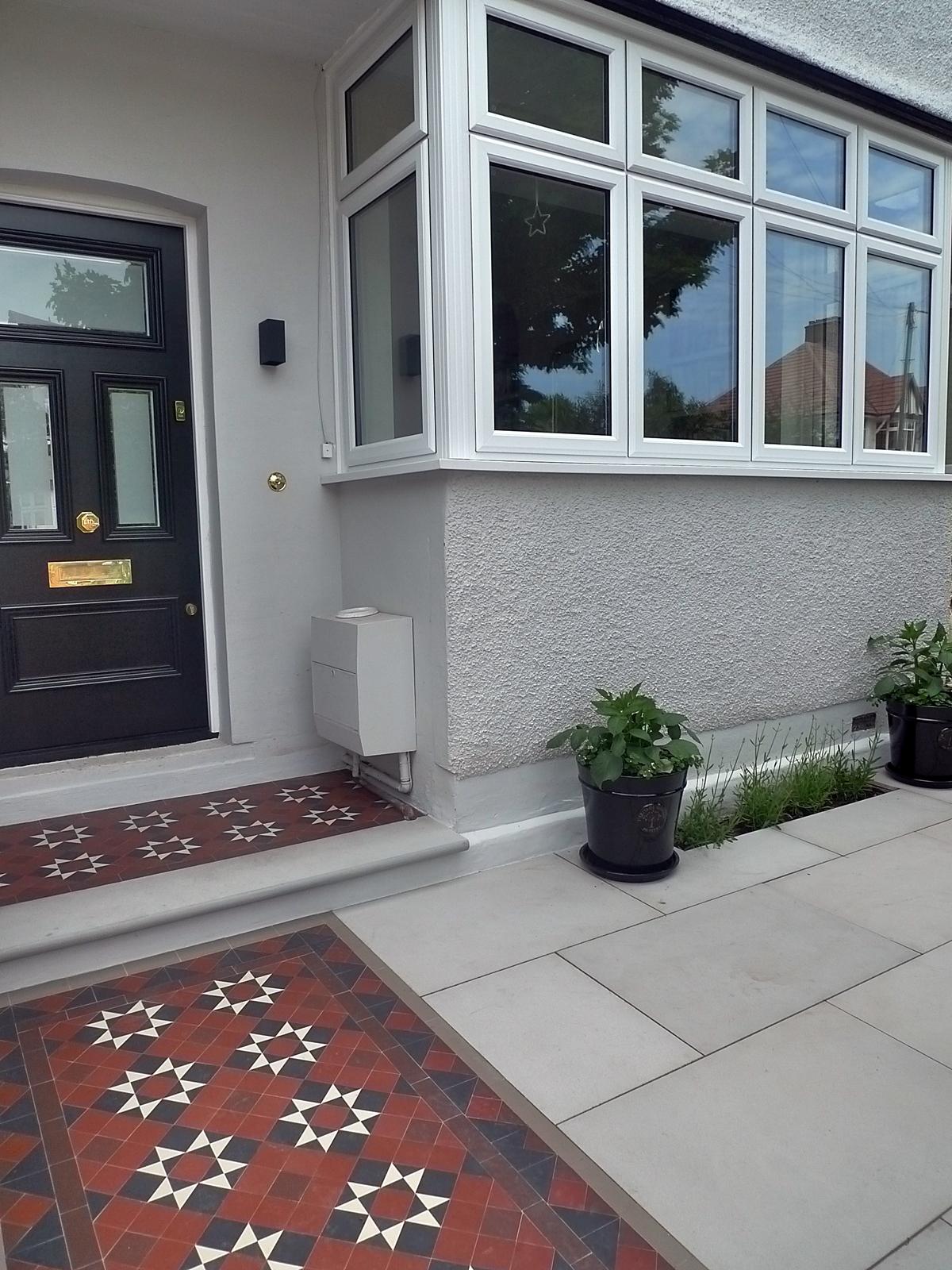 victorian edwardian mosaic tile path company balham clapham battersea southwark