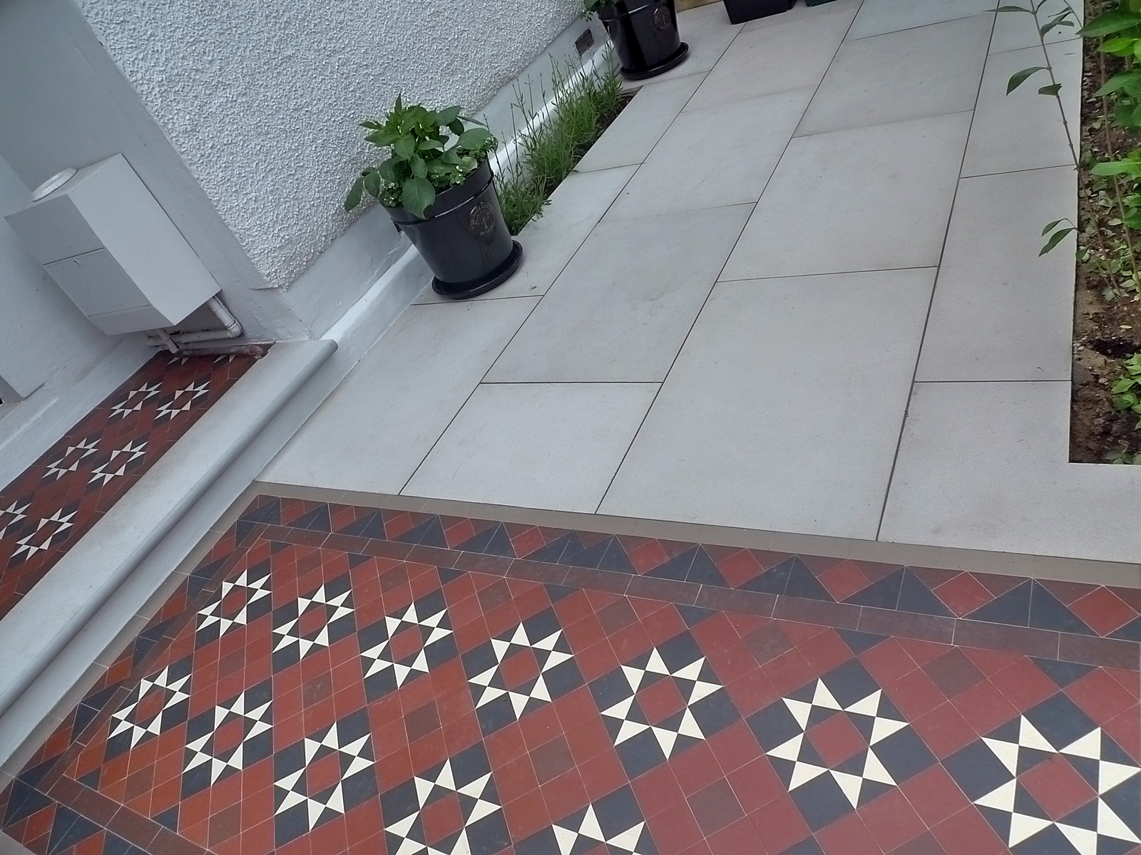 victorian mosaic tile path battersea clapham cheam kensington tooting streatham london