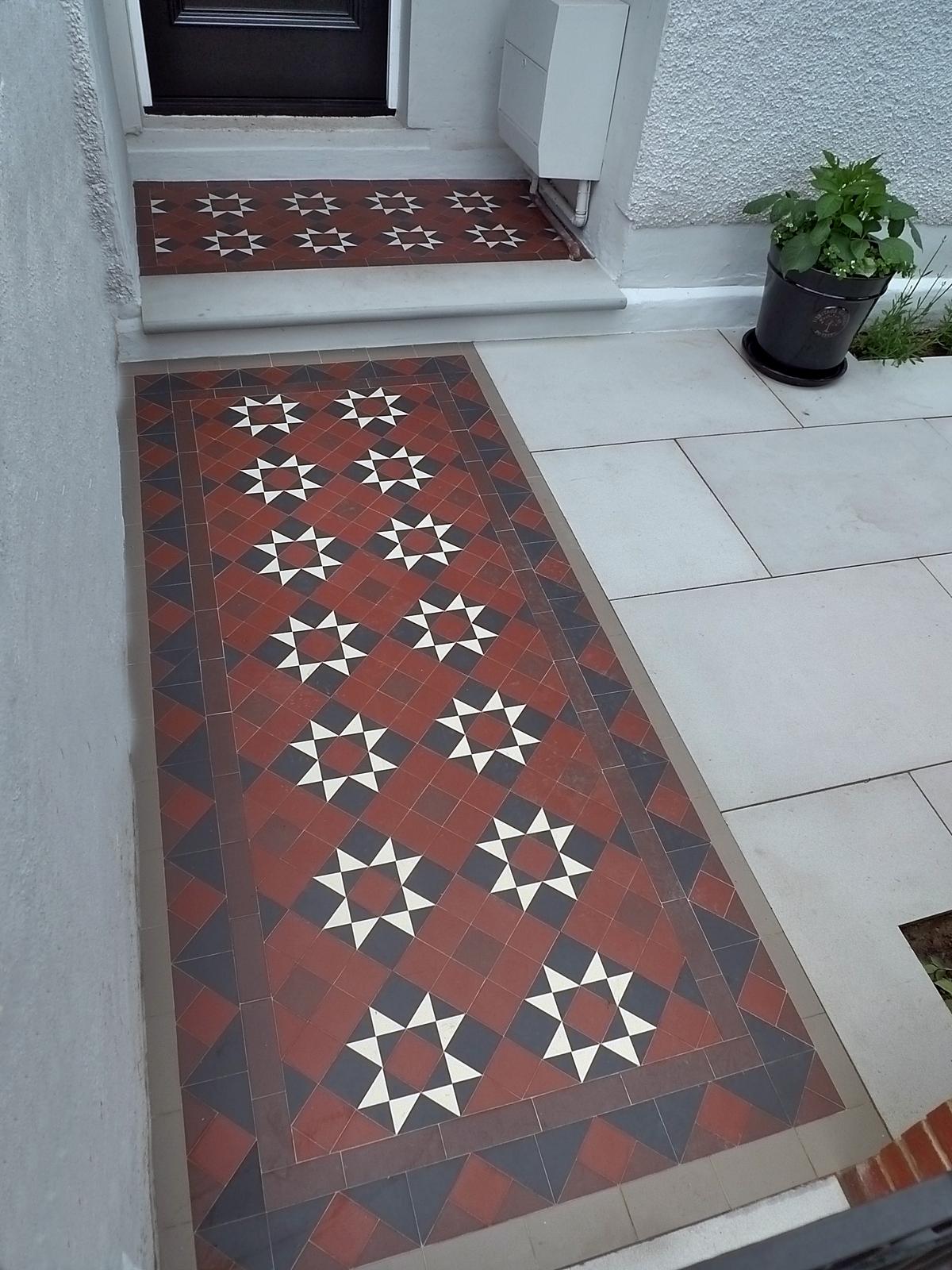 victorian mosaic tile path kennington sloane square knightsbridge mayfair victoria london