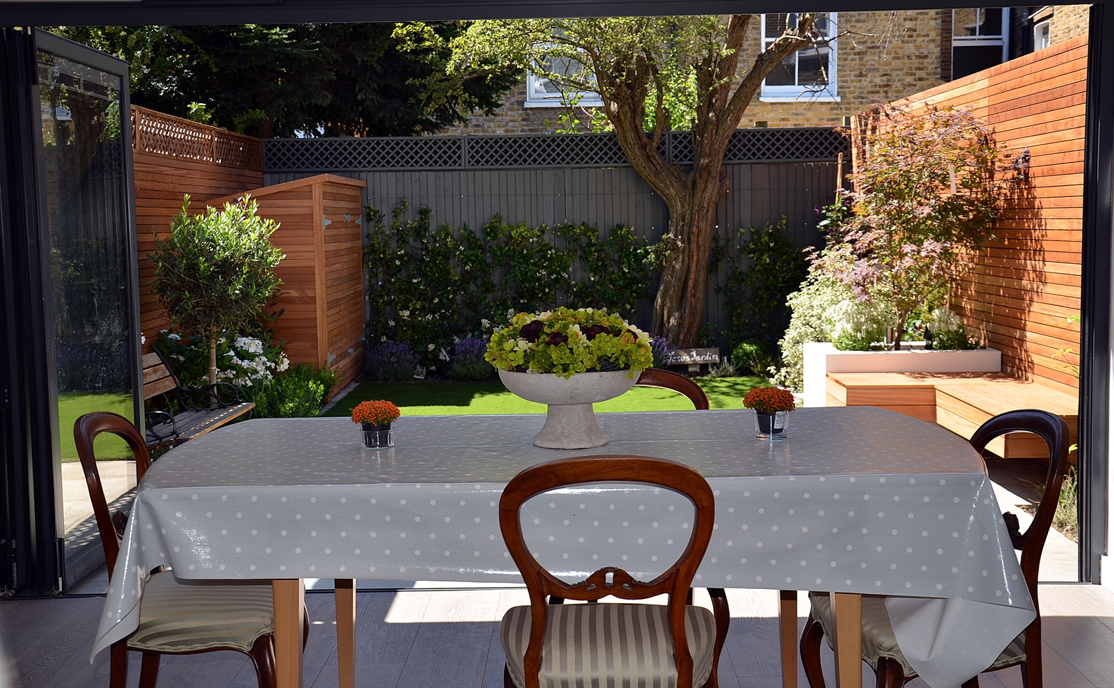room outdoors small garden designer design battersea clapham fulham chelsea london