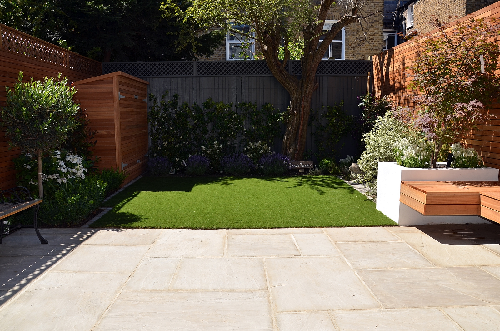 small garden designer docklands westminster vauxhall london design