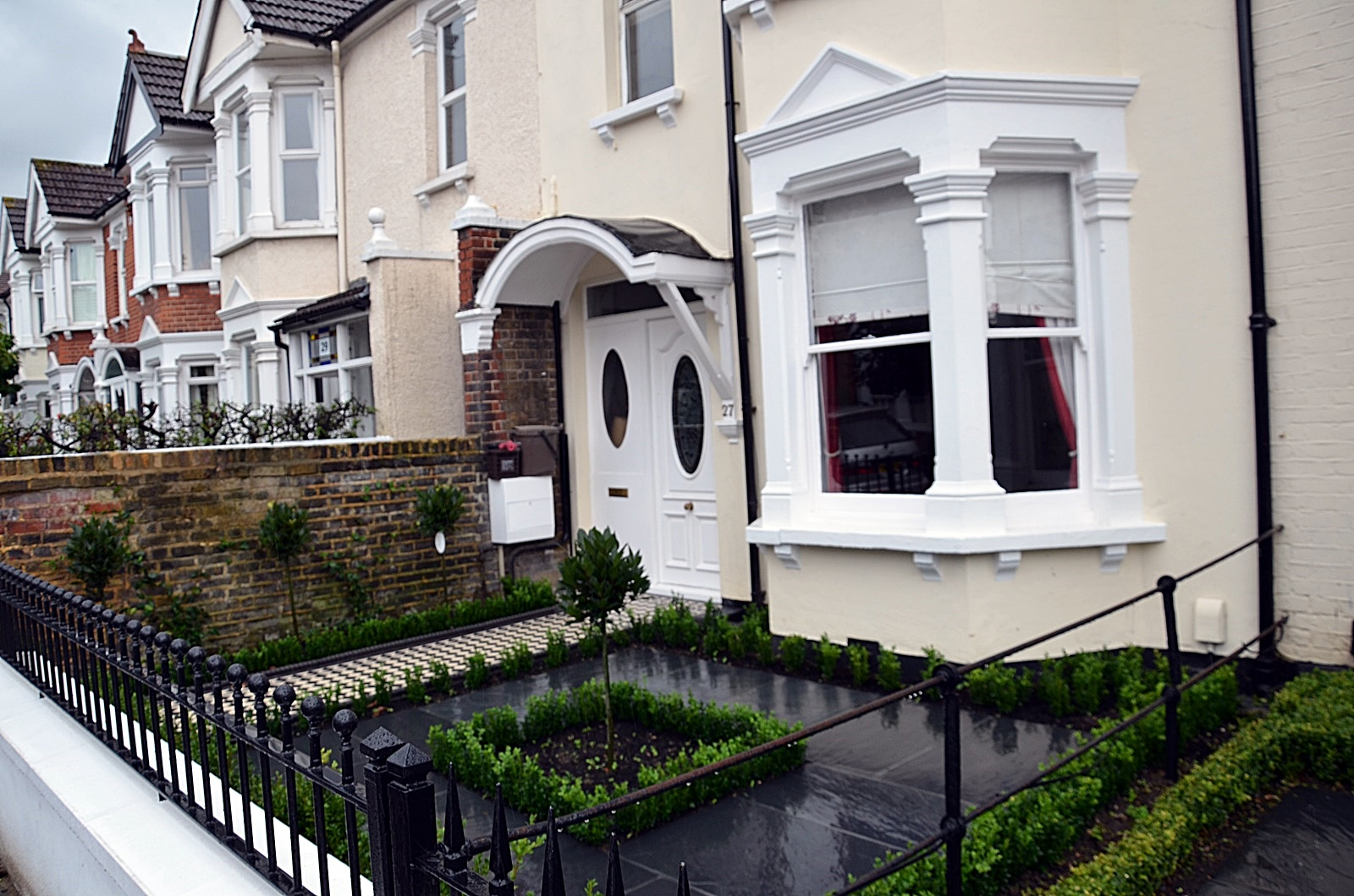 front-garden-design-company-london
