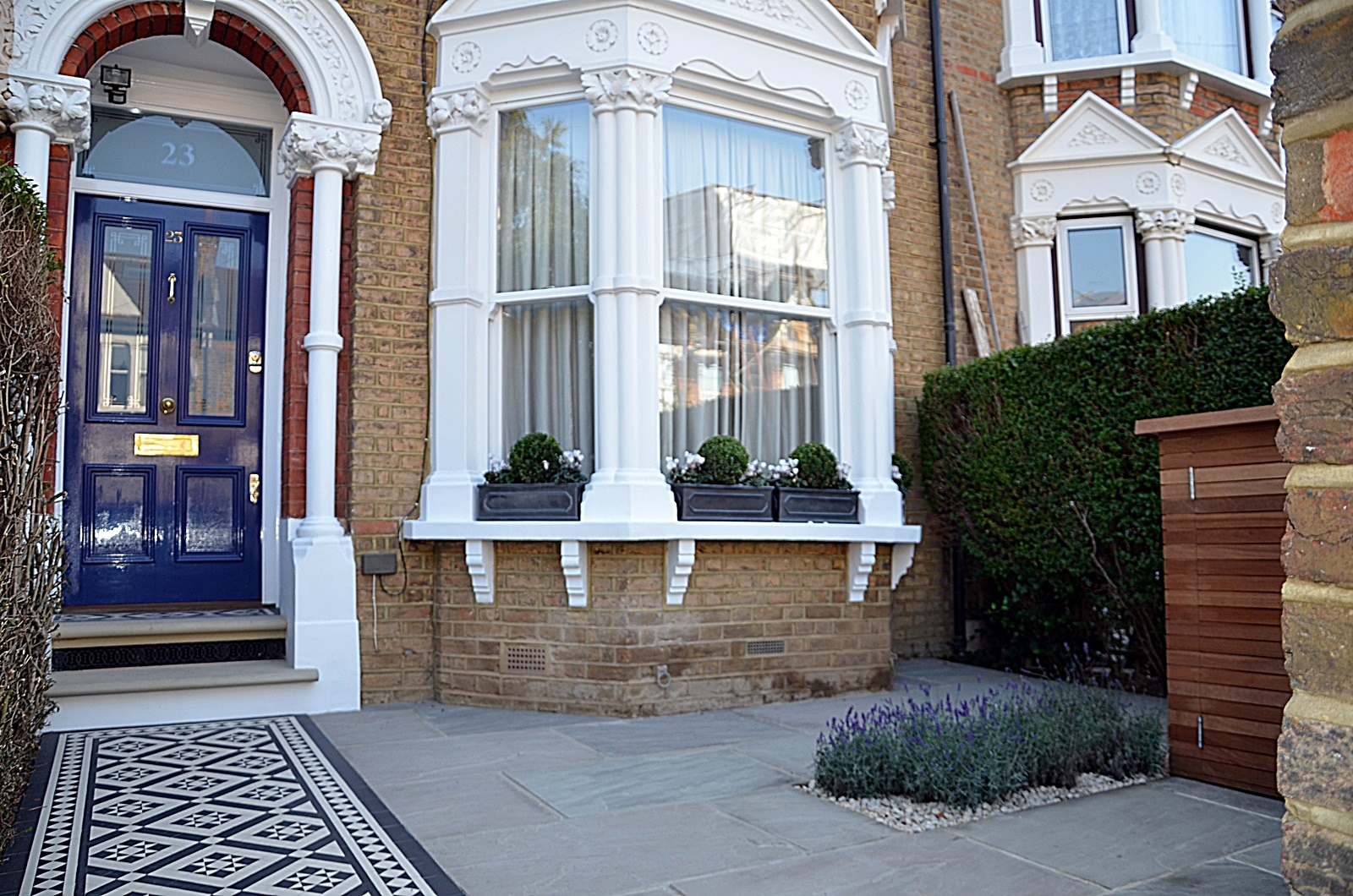 Front Garden Design Company London Wandsworth Fulham Chelsea