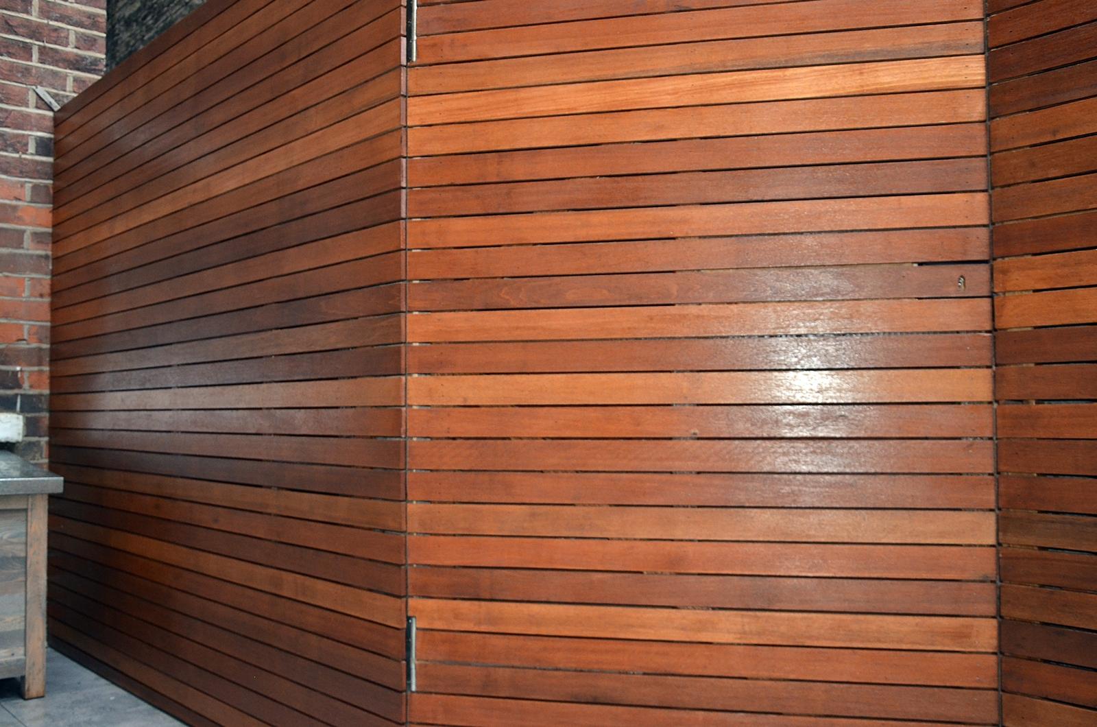 Modern Garden Design Hardwood Screen Privacy Cedar Screen