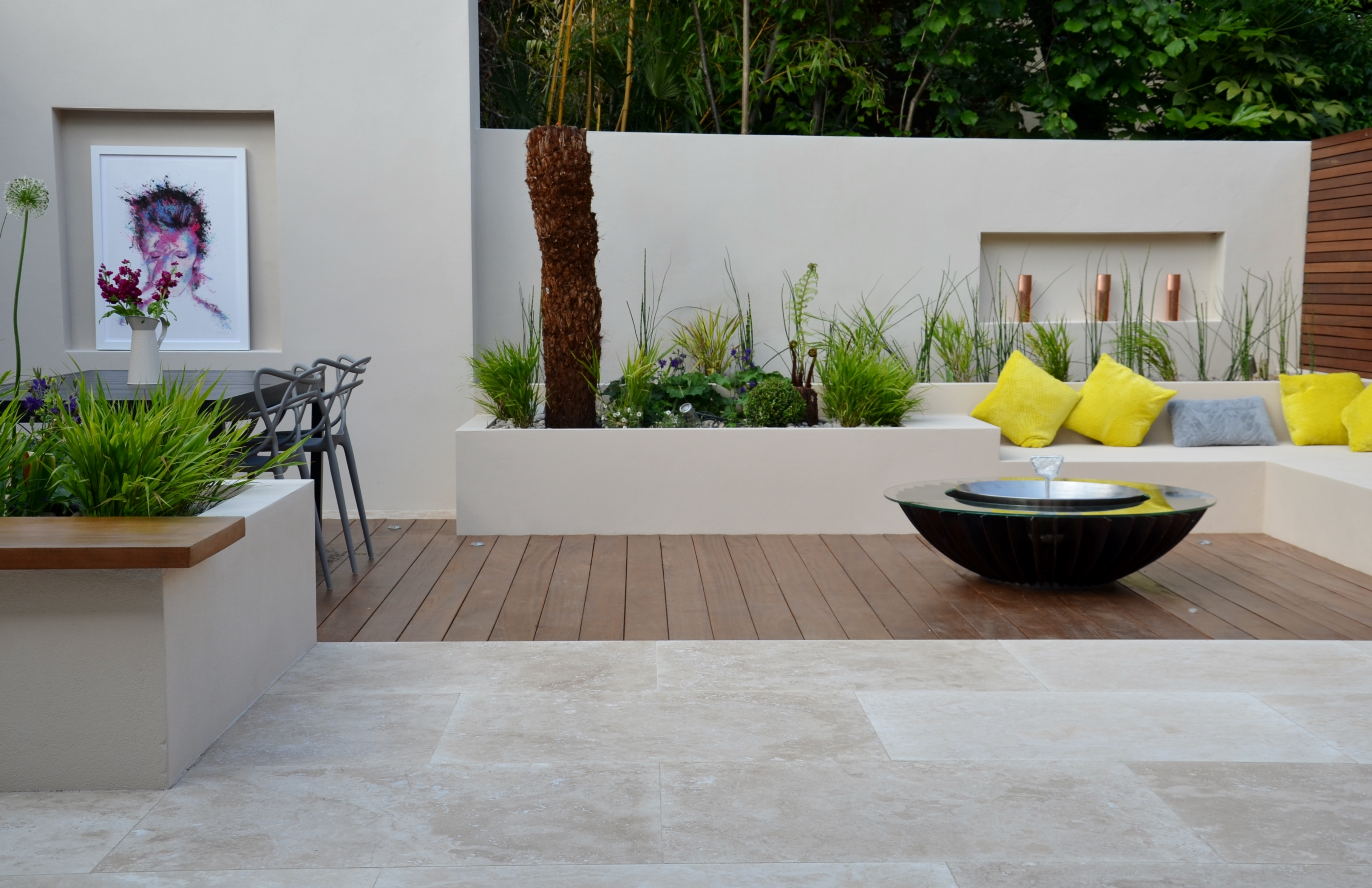 modern garden design london 2017 - london garden blog
