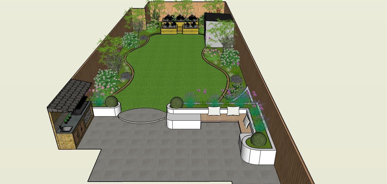 Garden design London designer Chelsea London Garden Blog
