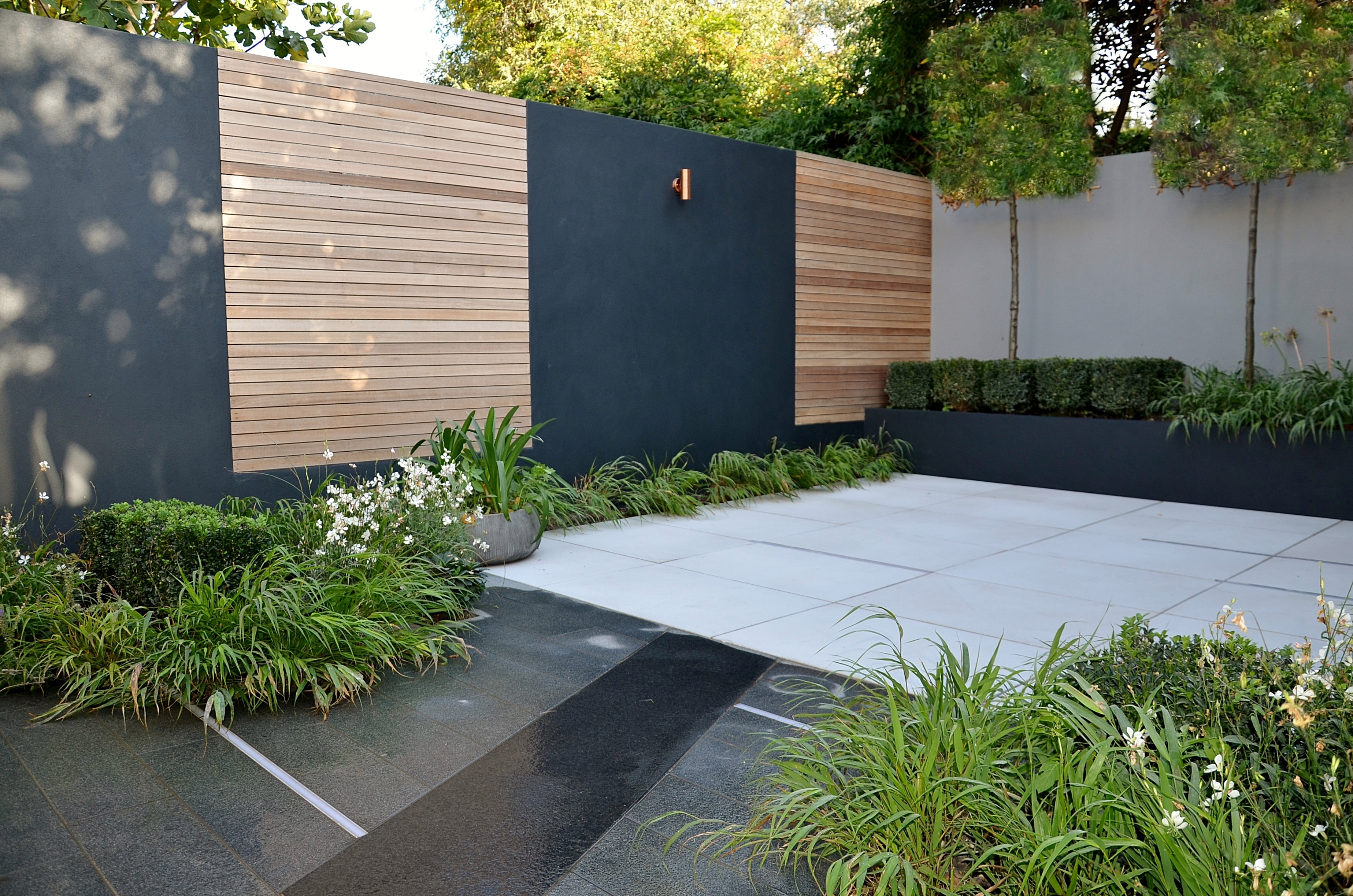 Merveilleux Modern Courtyard Garden Design London Cat Howard Garden Builders Anewgarden