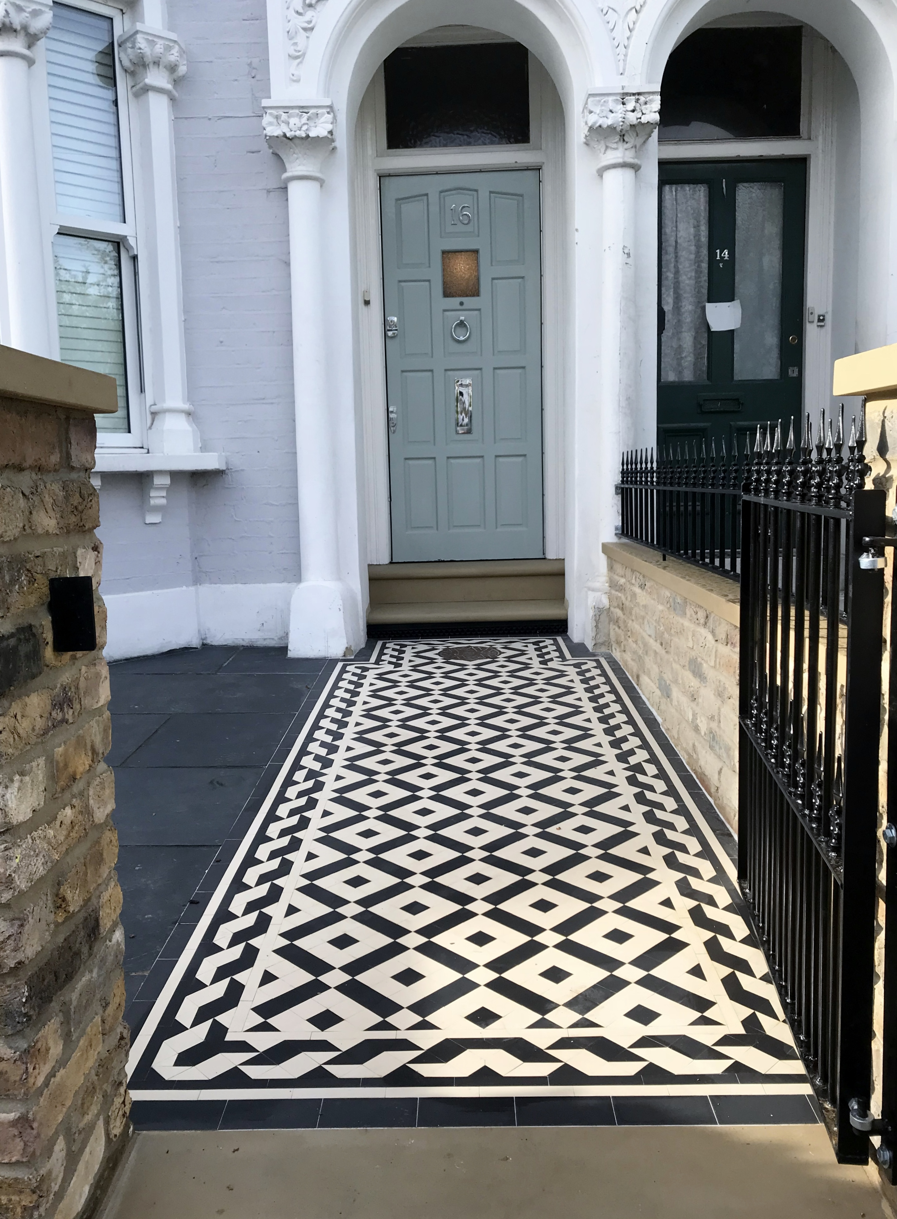 Victorian And Edwardian Mosaic Tile Company London