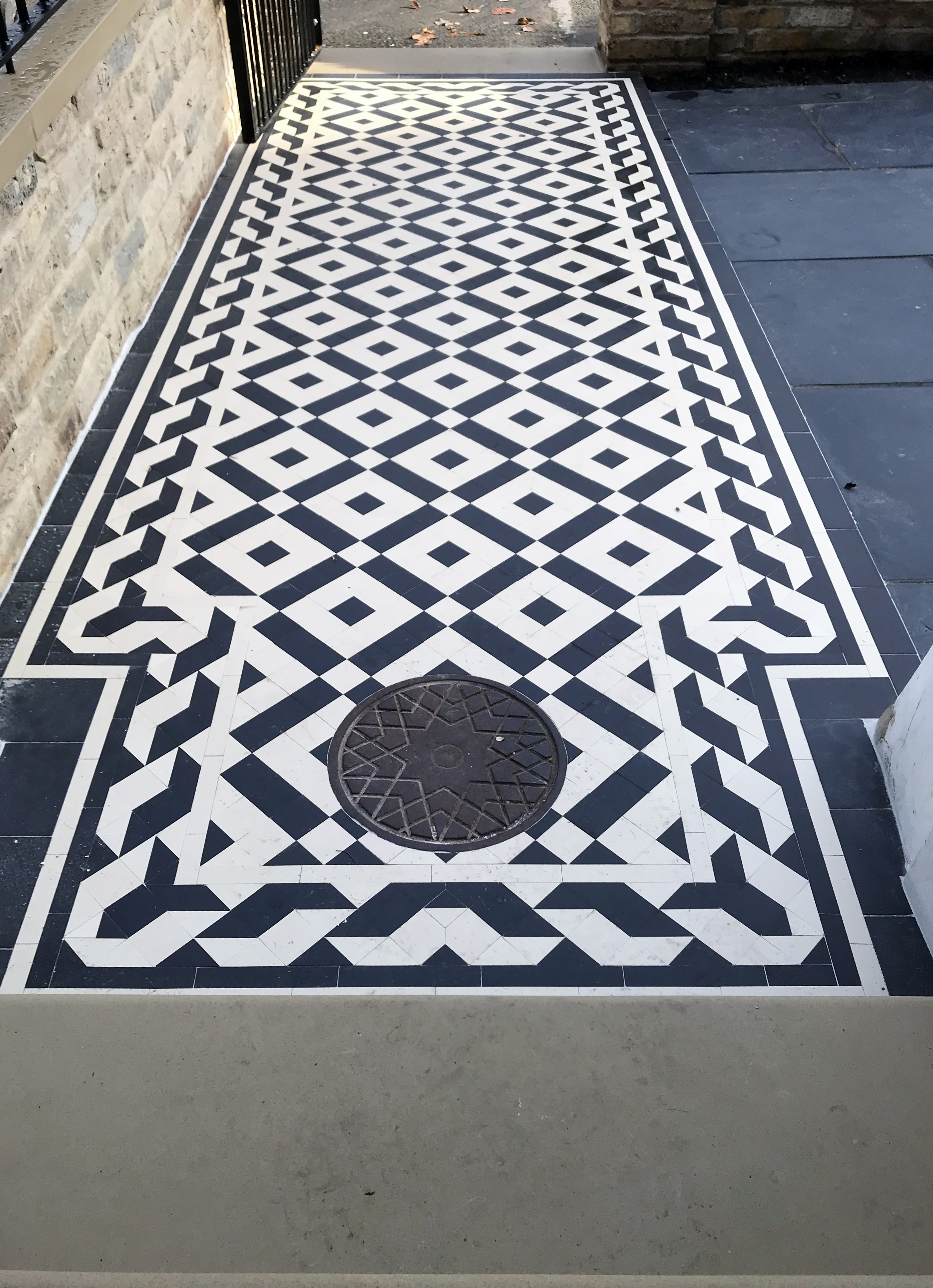 Victorian And Edwardian Mosaic Tile Company London