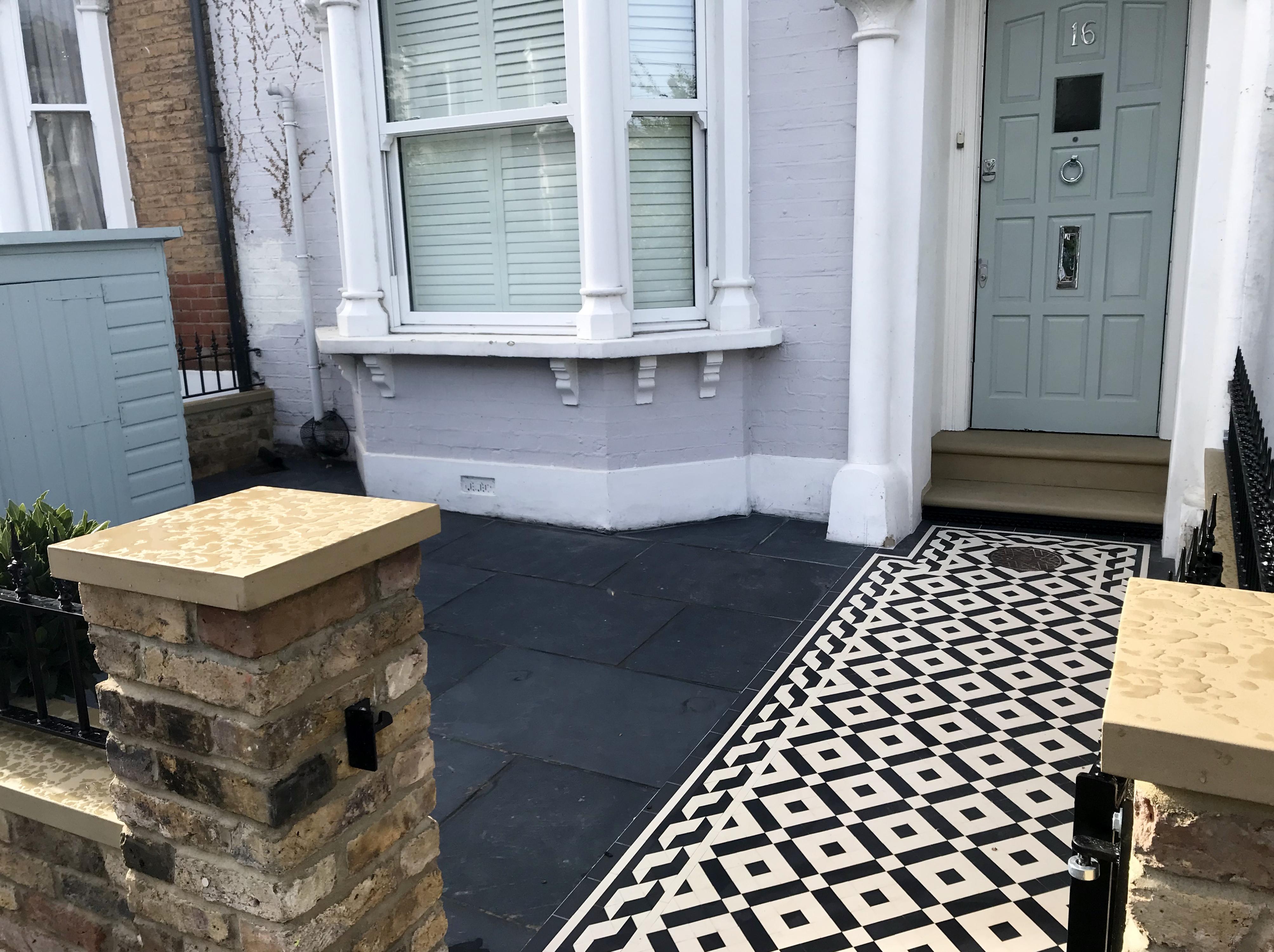 Victorian and Edwardian Mosaic Tile Company London - London Garden Blog