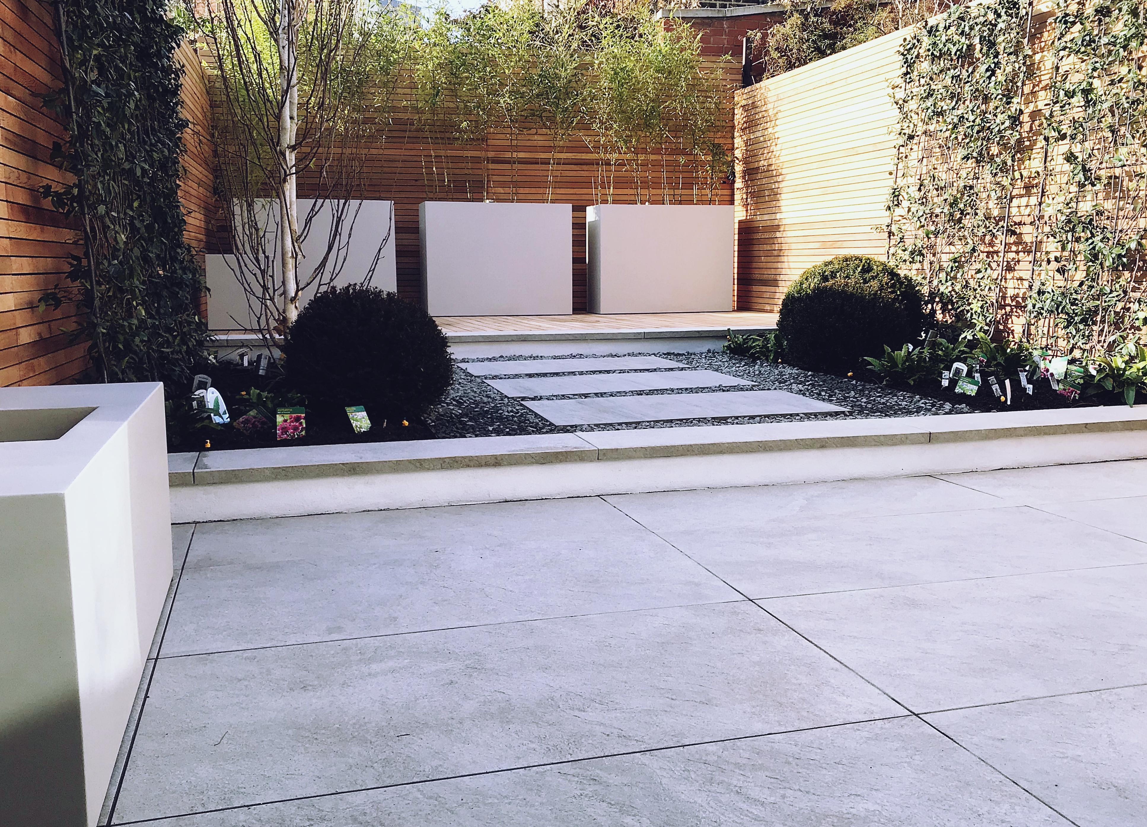 Astro Turf Garden >> Courtyard garden design Clapham Balham Battersea London - London Garden Blog